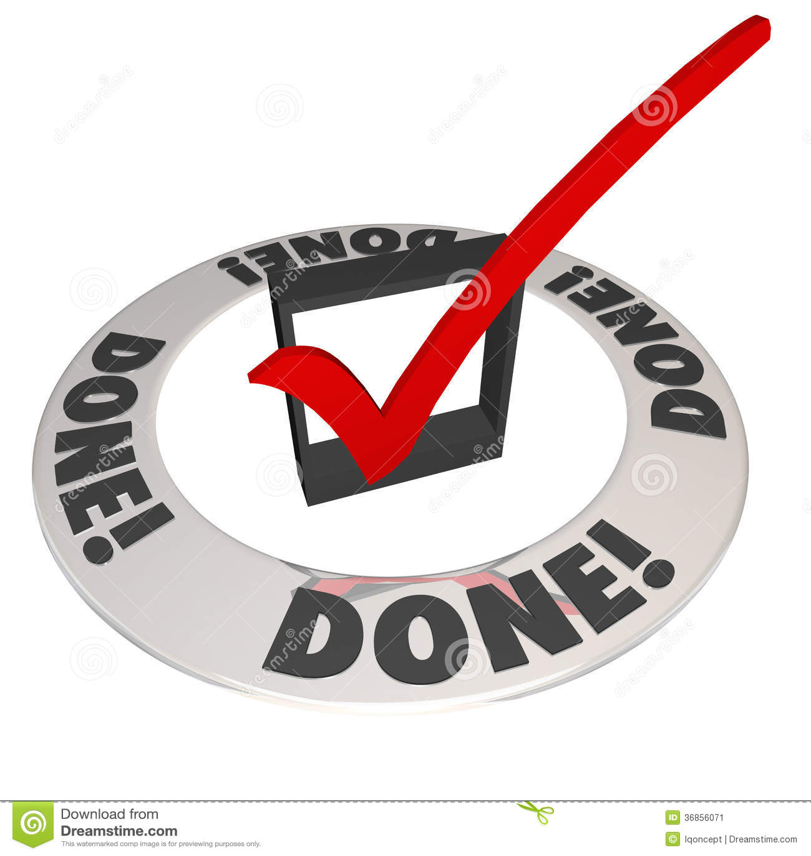 done check mark in checkbox mission job accomplishment complete done check mark in checkbox mission job accomplishment complete