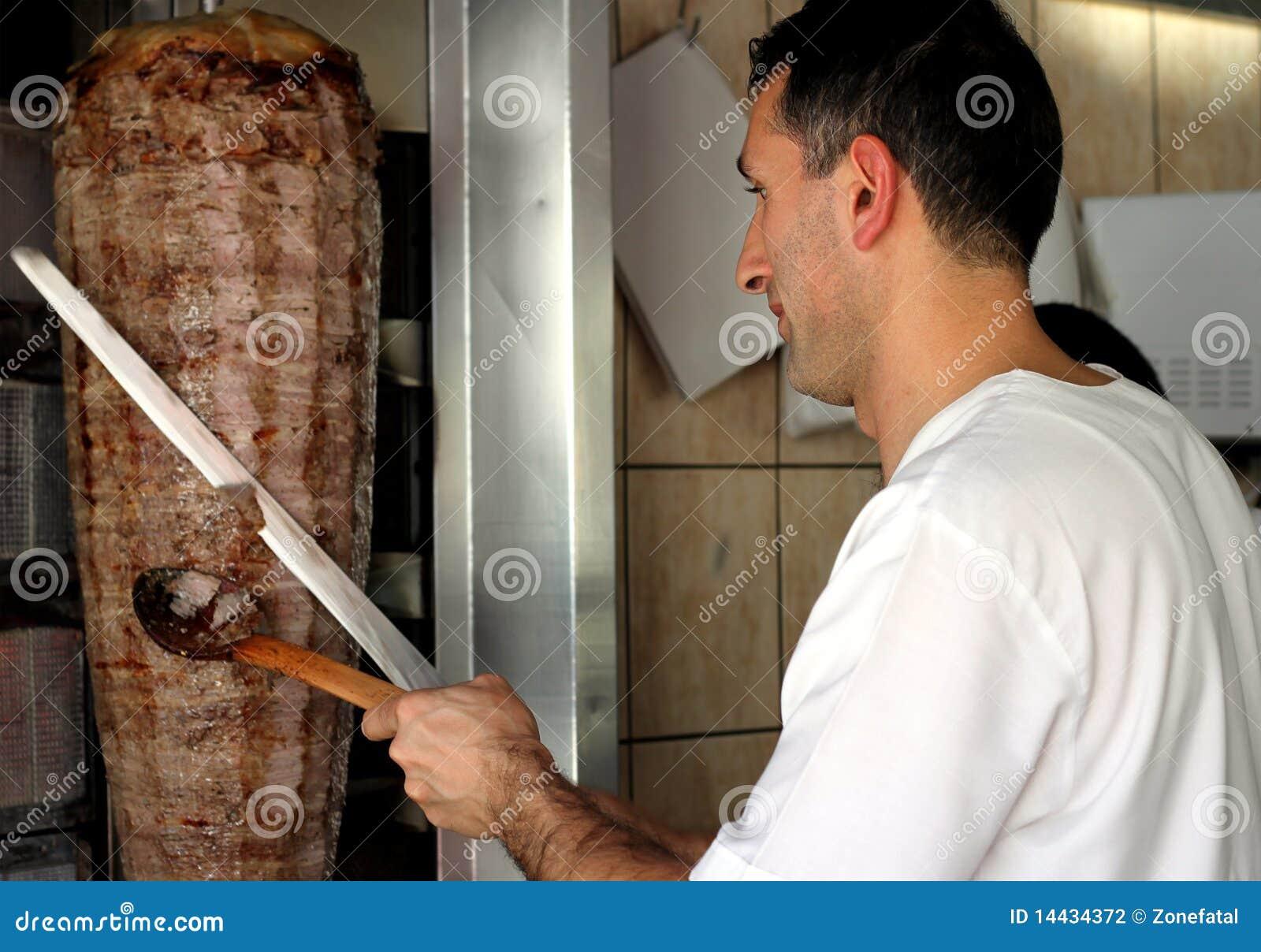 Doner kebab turkish
