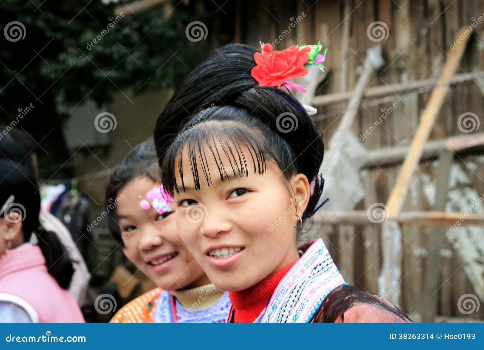 In china girls village These Village