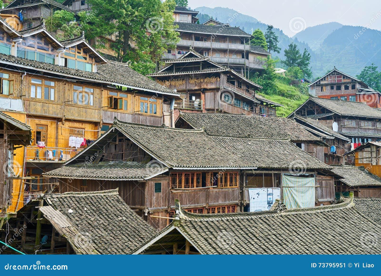 Dong Village, Guizhou, Chine