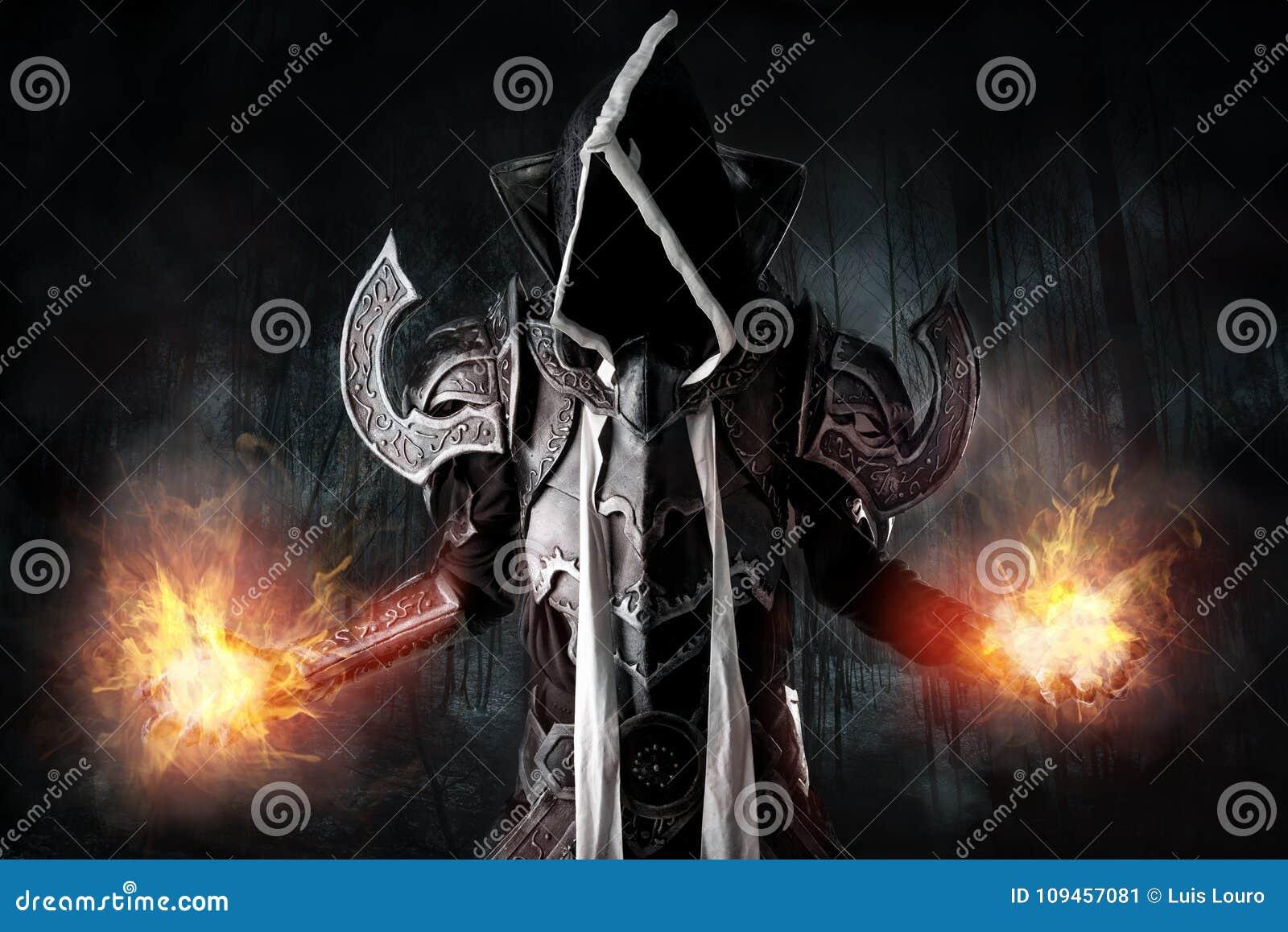 Donker cosplay demon