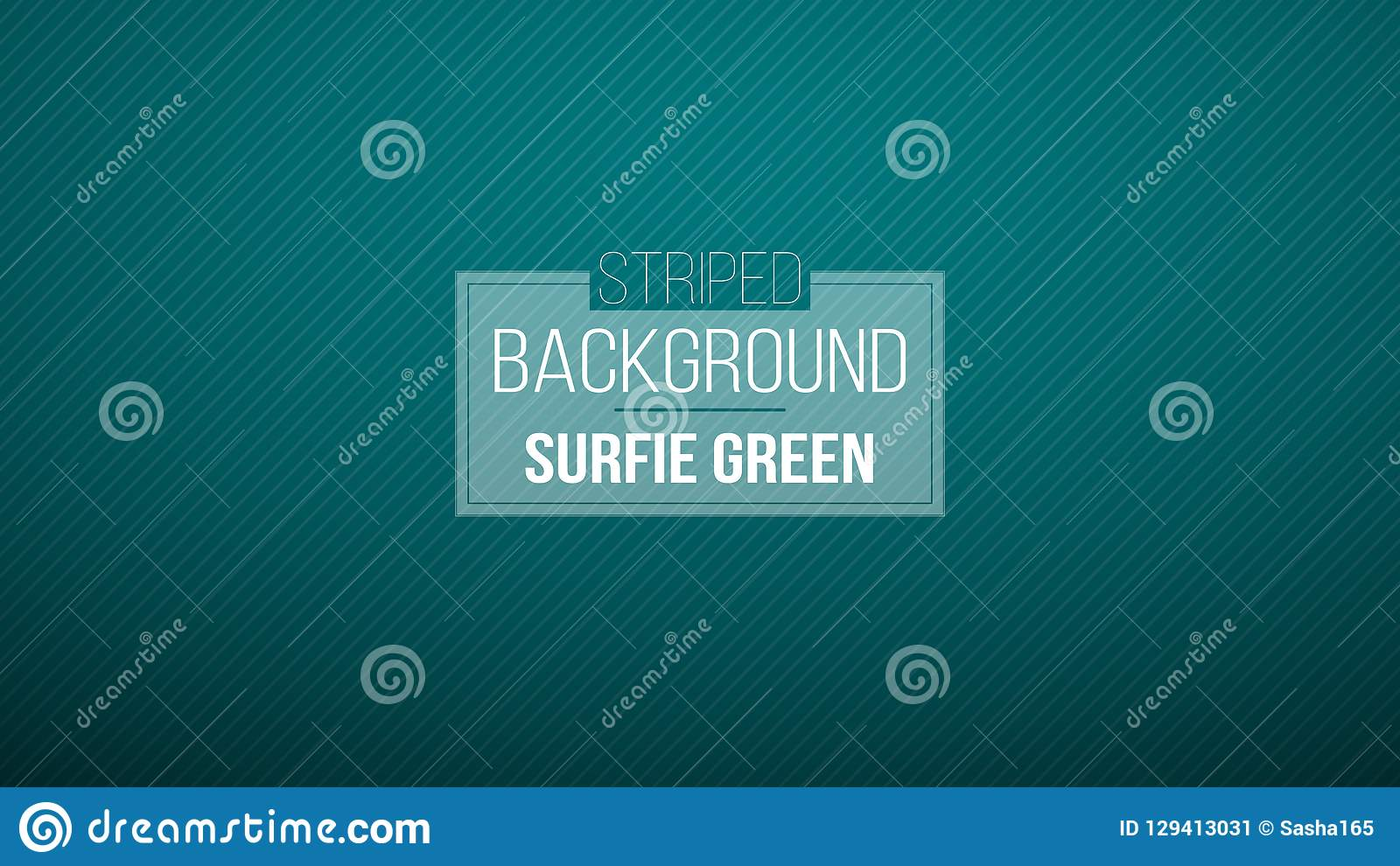 Donkerblauwe Groene gestreepte achtergrond Vector illustratie Gloednieuw patroon voor uw bedrijfsontwerp Kleurrijke achtergrond i