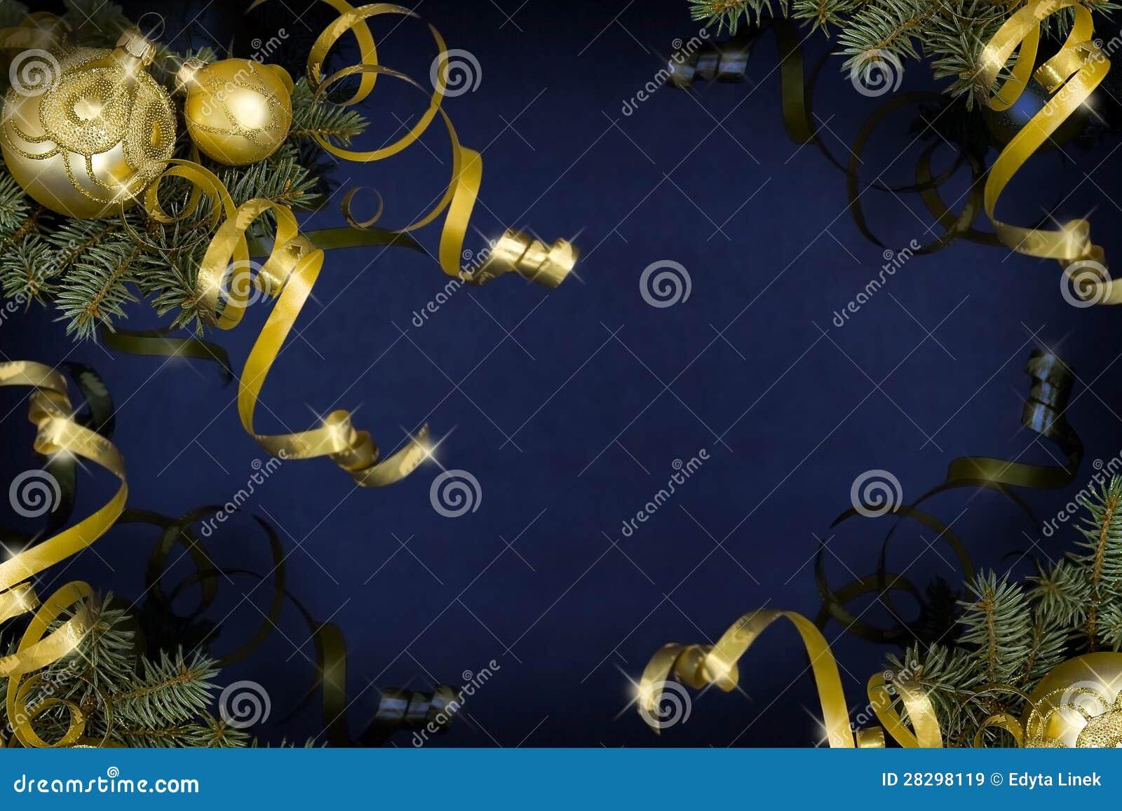 Donkerblauwe Kerstmis