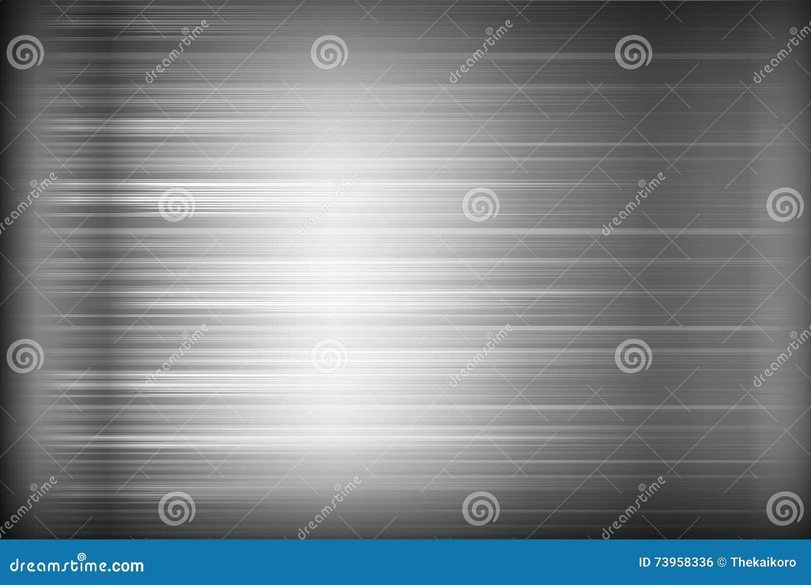 Donkere chroom zwarte en grijze achtergrondtextuur vectorillustratie