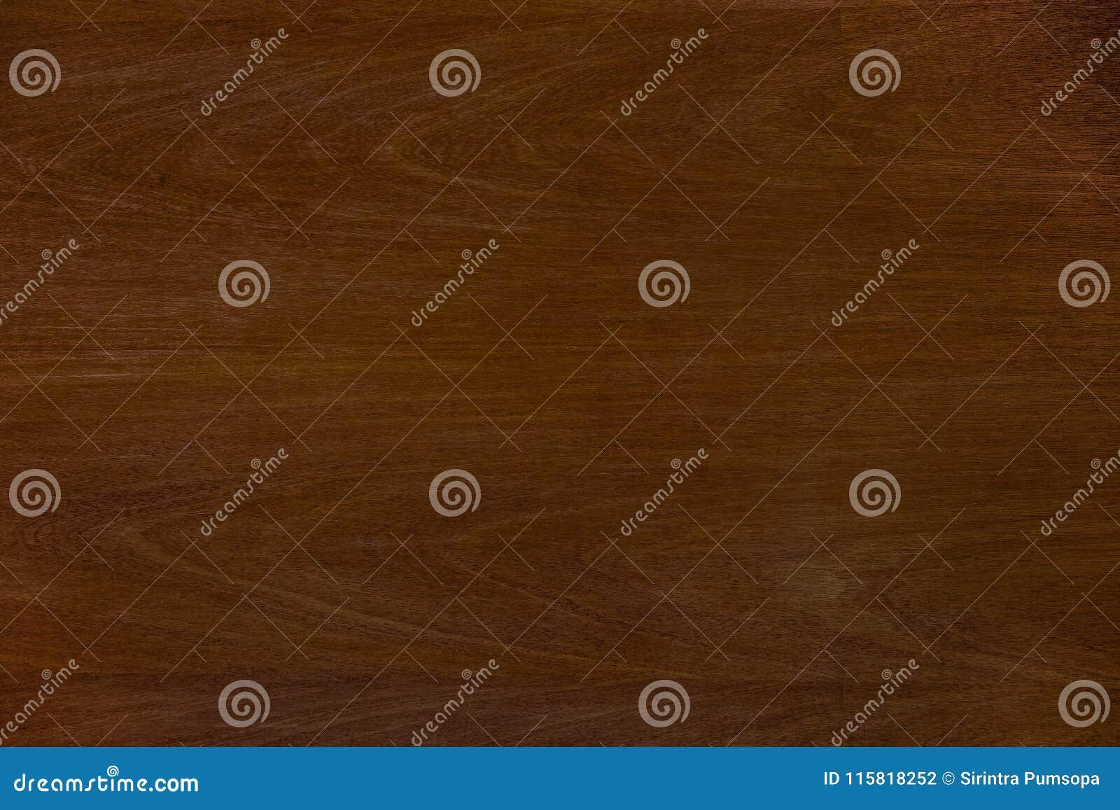 Donkere de textuurachtergrond van de Teak houten bruine korrel Aard grunge klopje