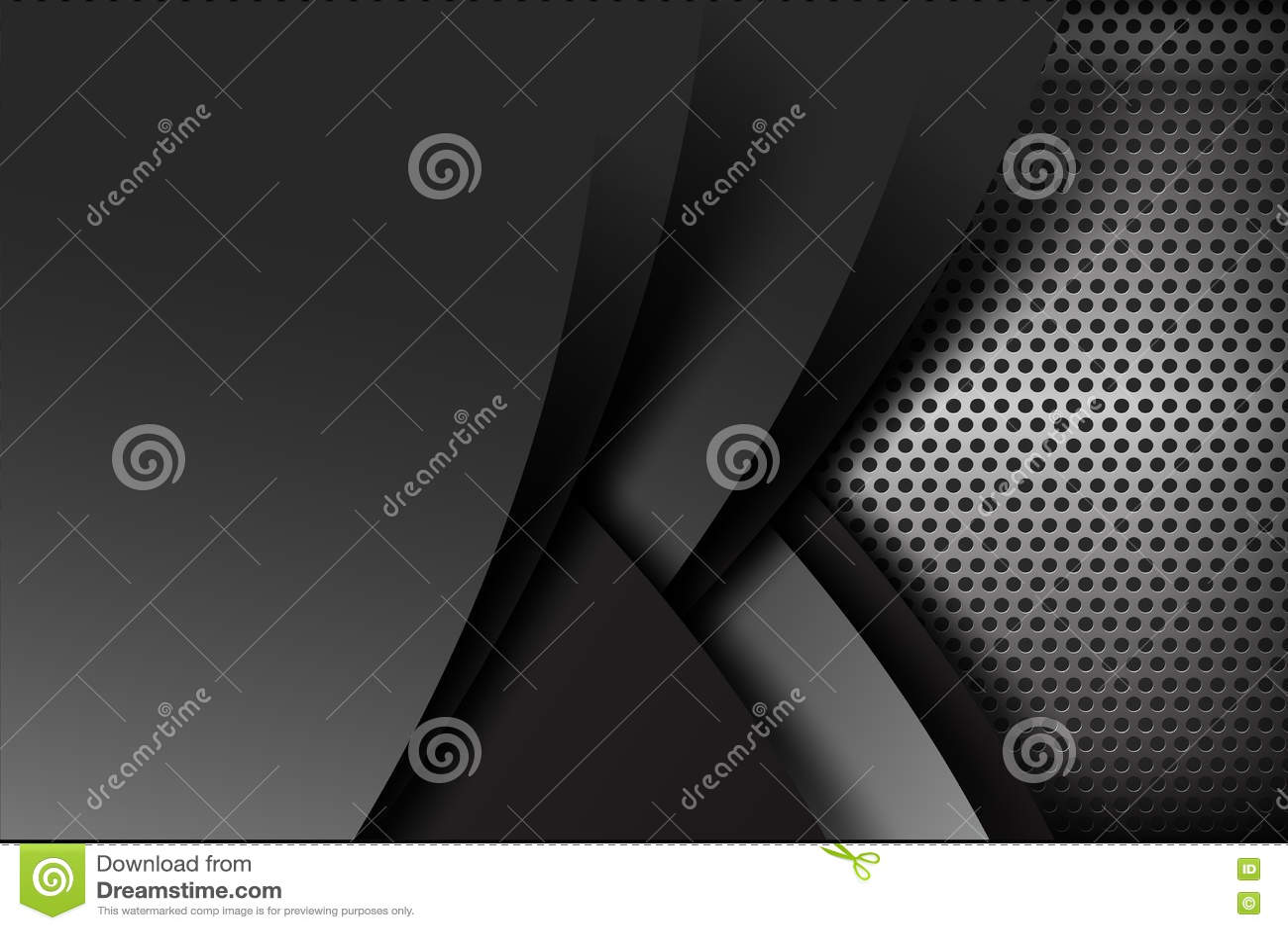 Donkere het elementen van de chroom zwarte en grijze laag textuur als achtergrond