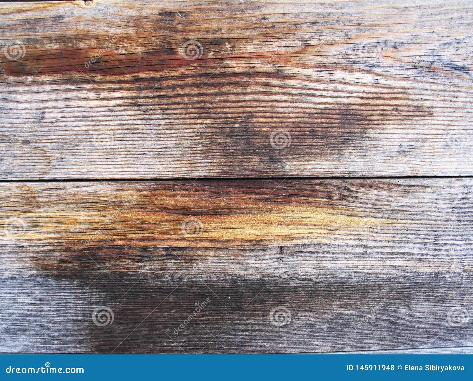 Donkere houten textuur Donkere oude houten panelen als achtergrond