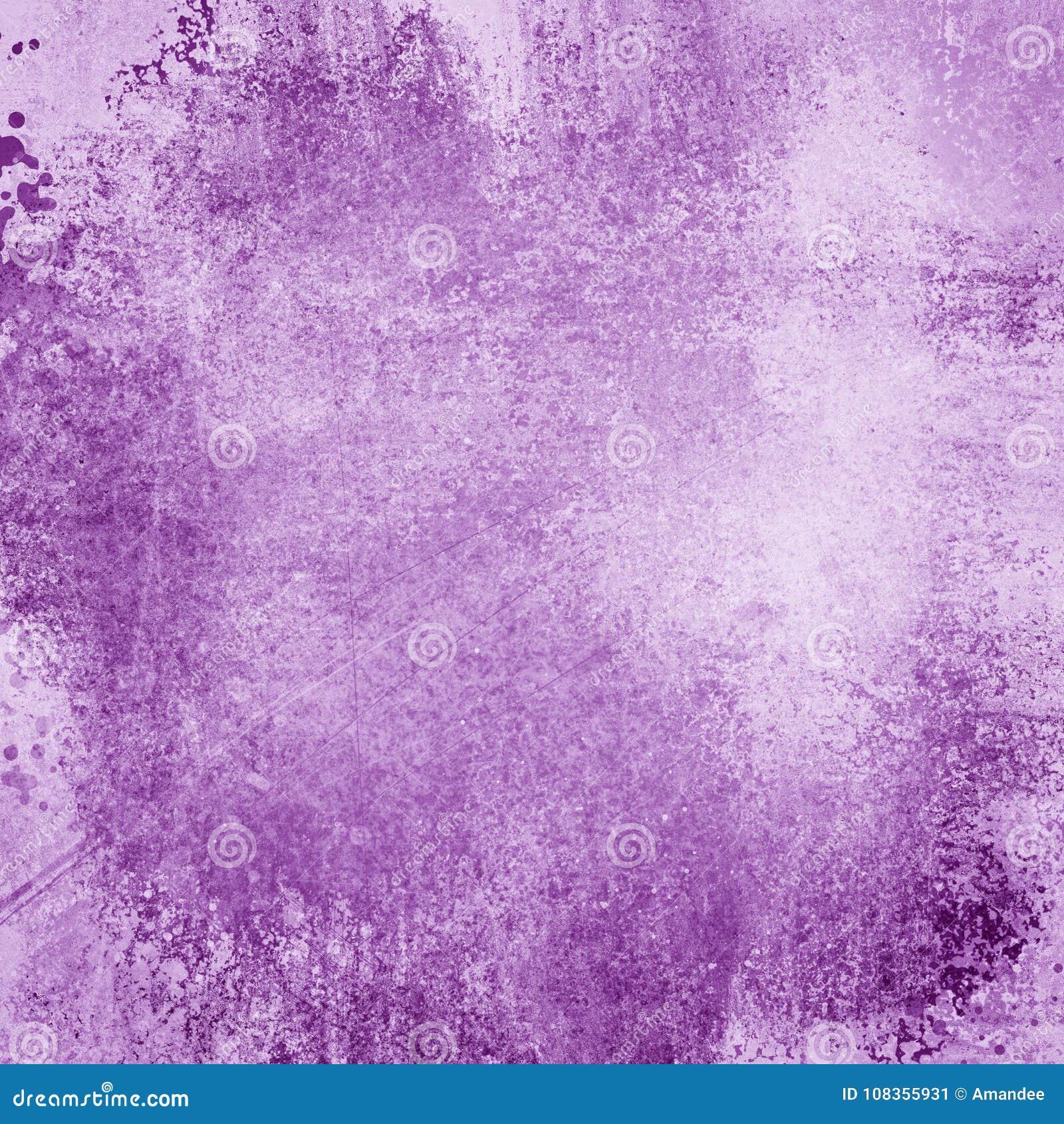 Donkere purpere en witte achtergrond met uitstekende textuur en partijen van geroest grunge, mooie elegante en mooie achtergrond