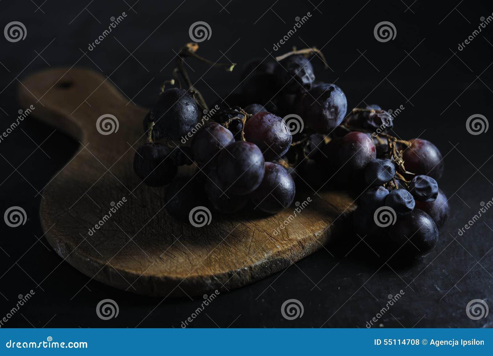 Donkere zoete druif