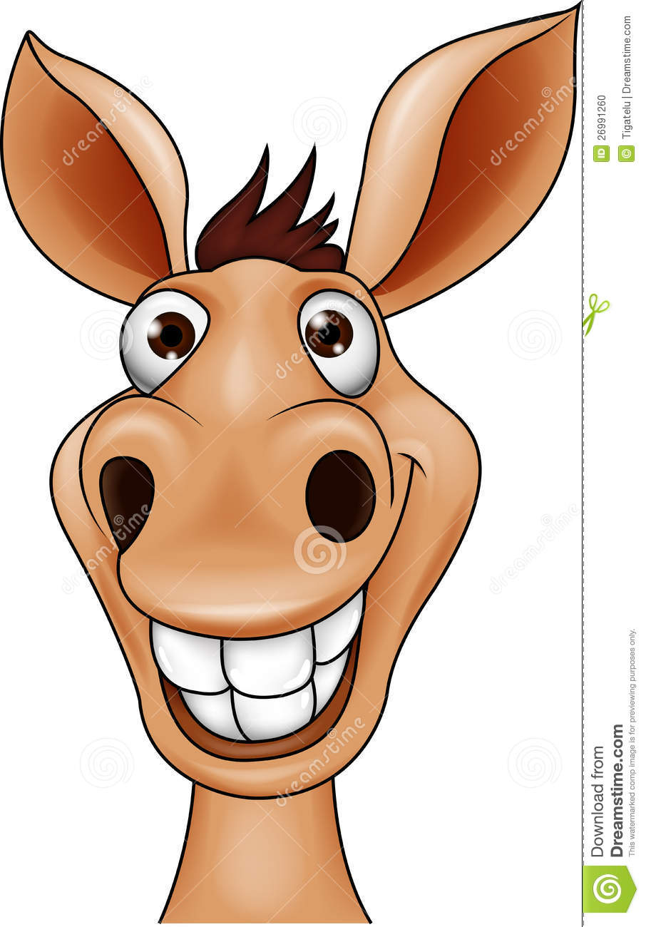 Free download of Cartoon Donkey Face vector graphics and ...