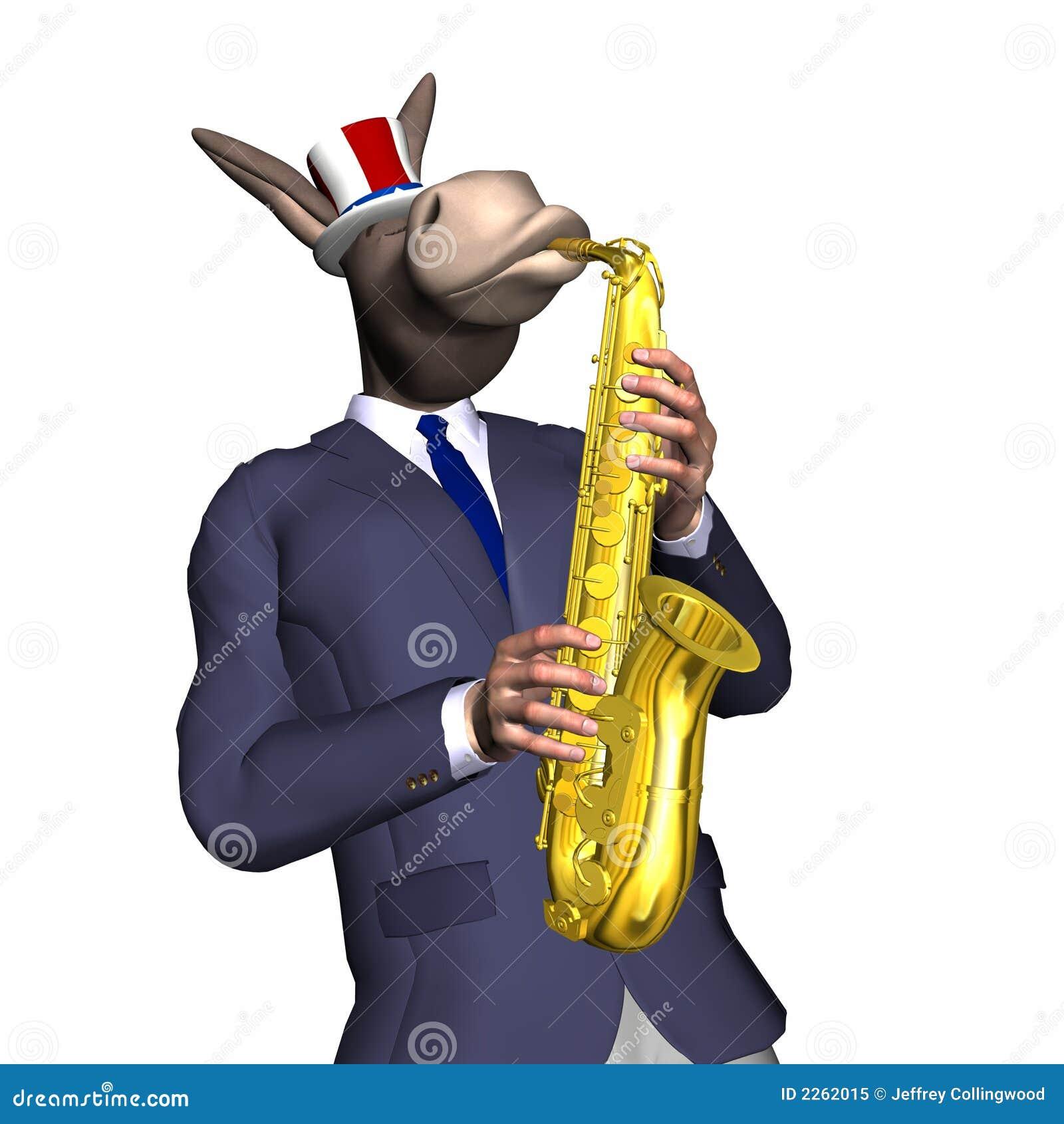 Donkey Smooth Jazz 1 Royalty Free Stock Photo Image