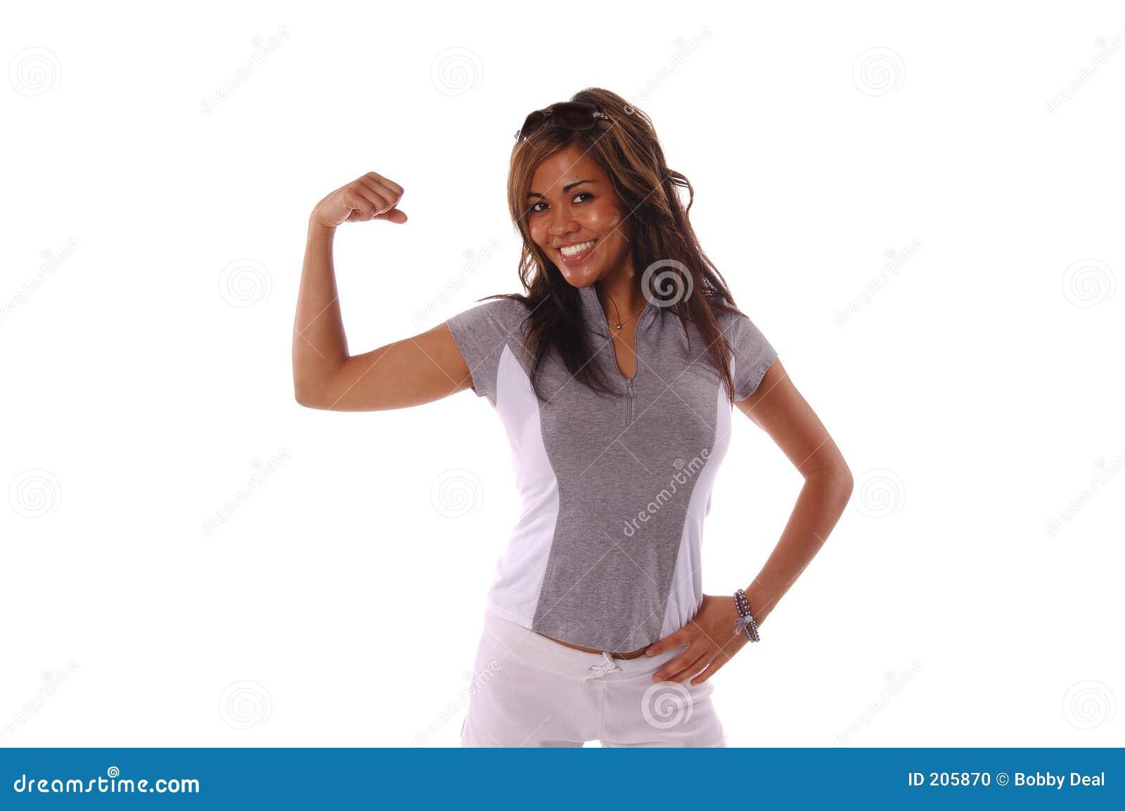 Donna 3 di allenamento