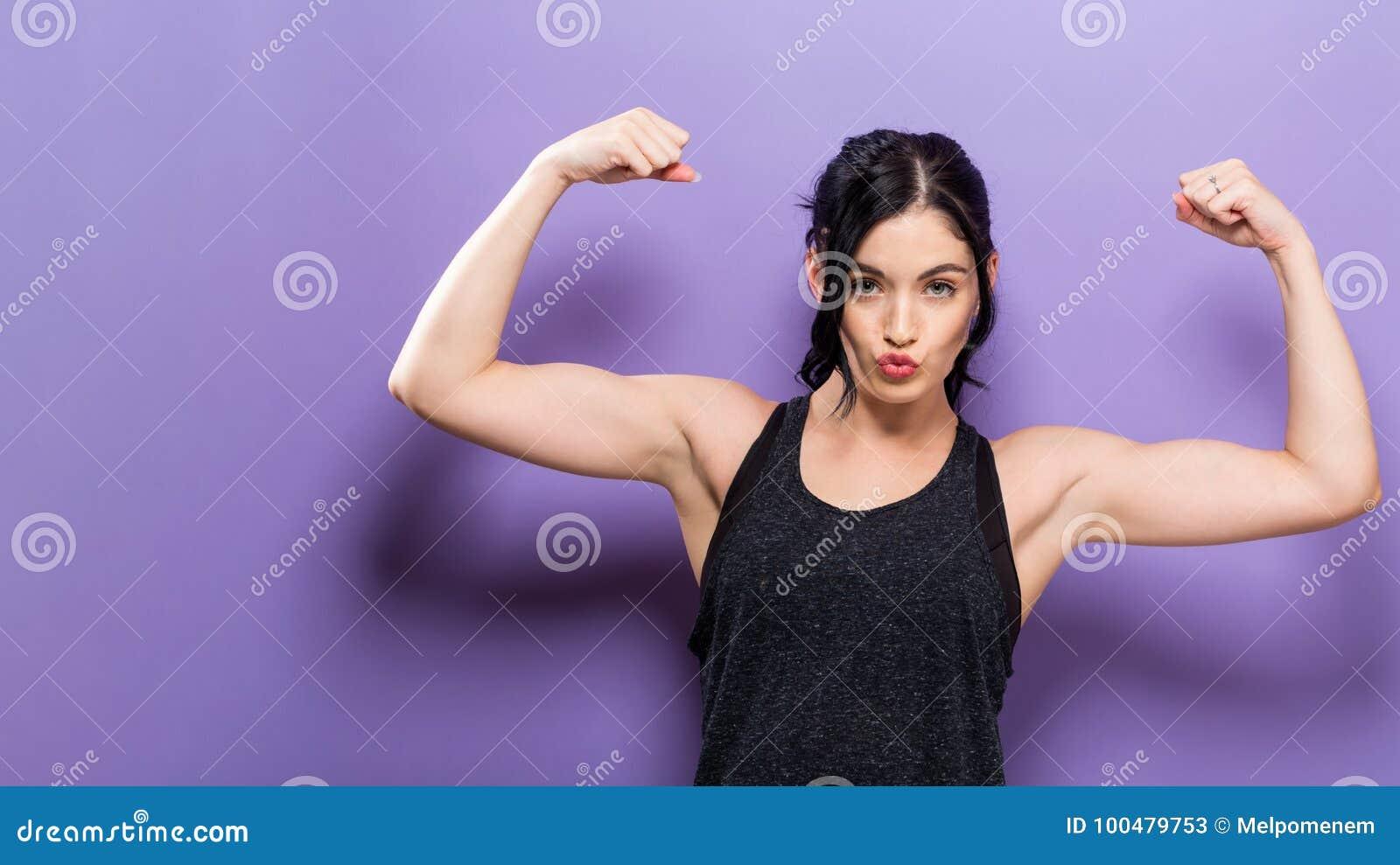 Donna adatta dei giovani potenti