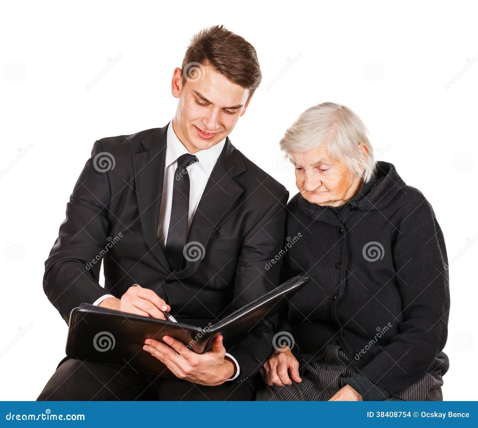 anziani femmina dating uomo più giovane