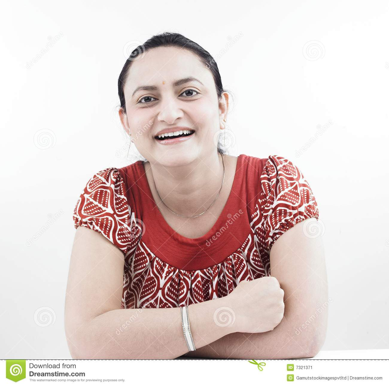 Donna asiatica dell origine indiana