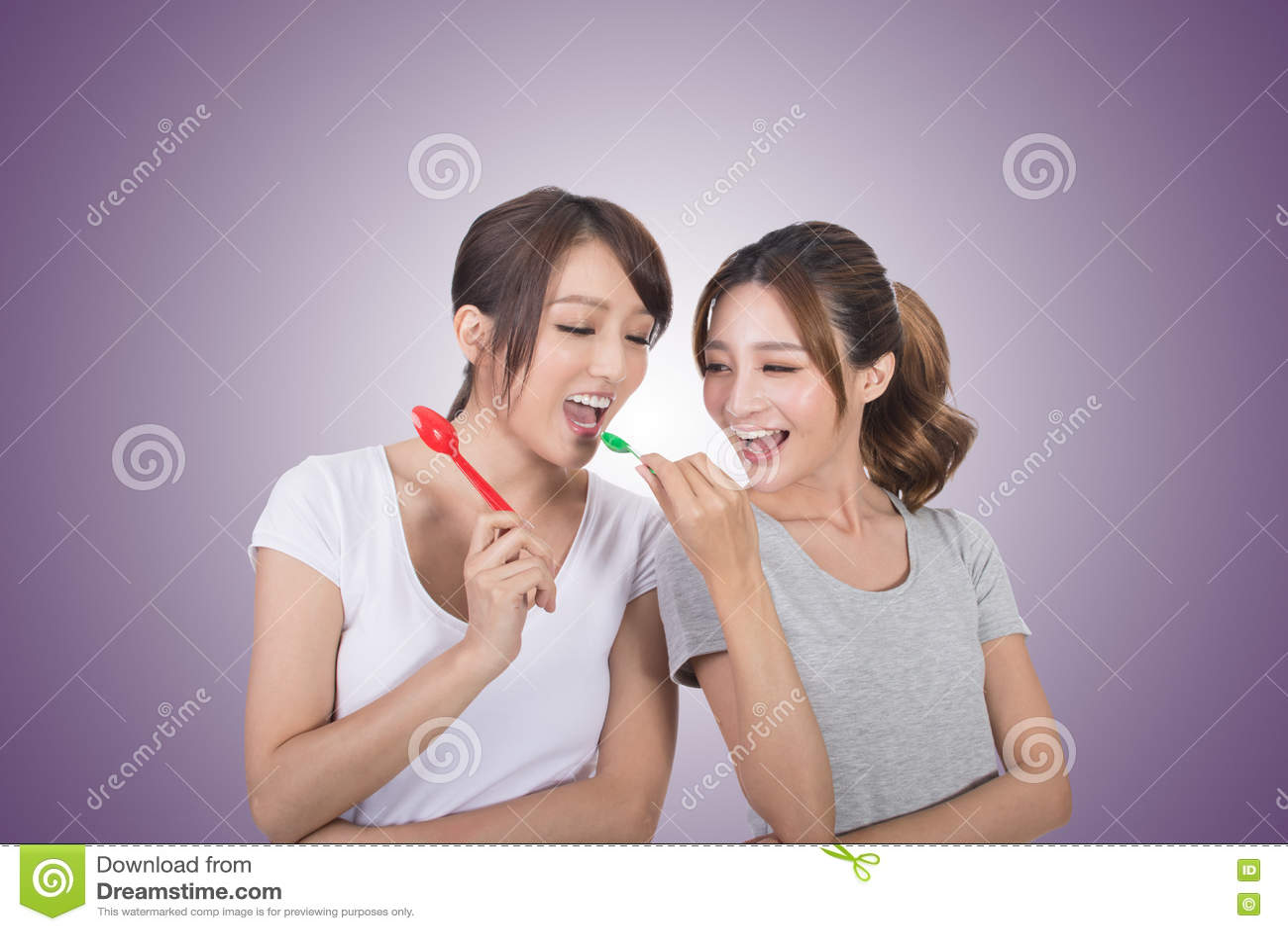 Donna con il suo amico