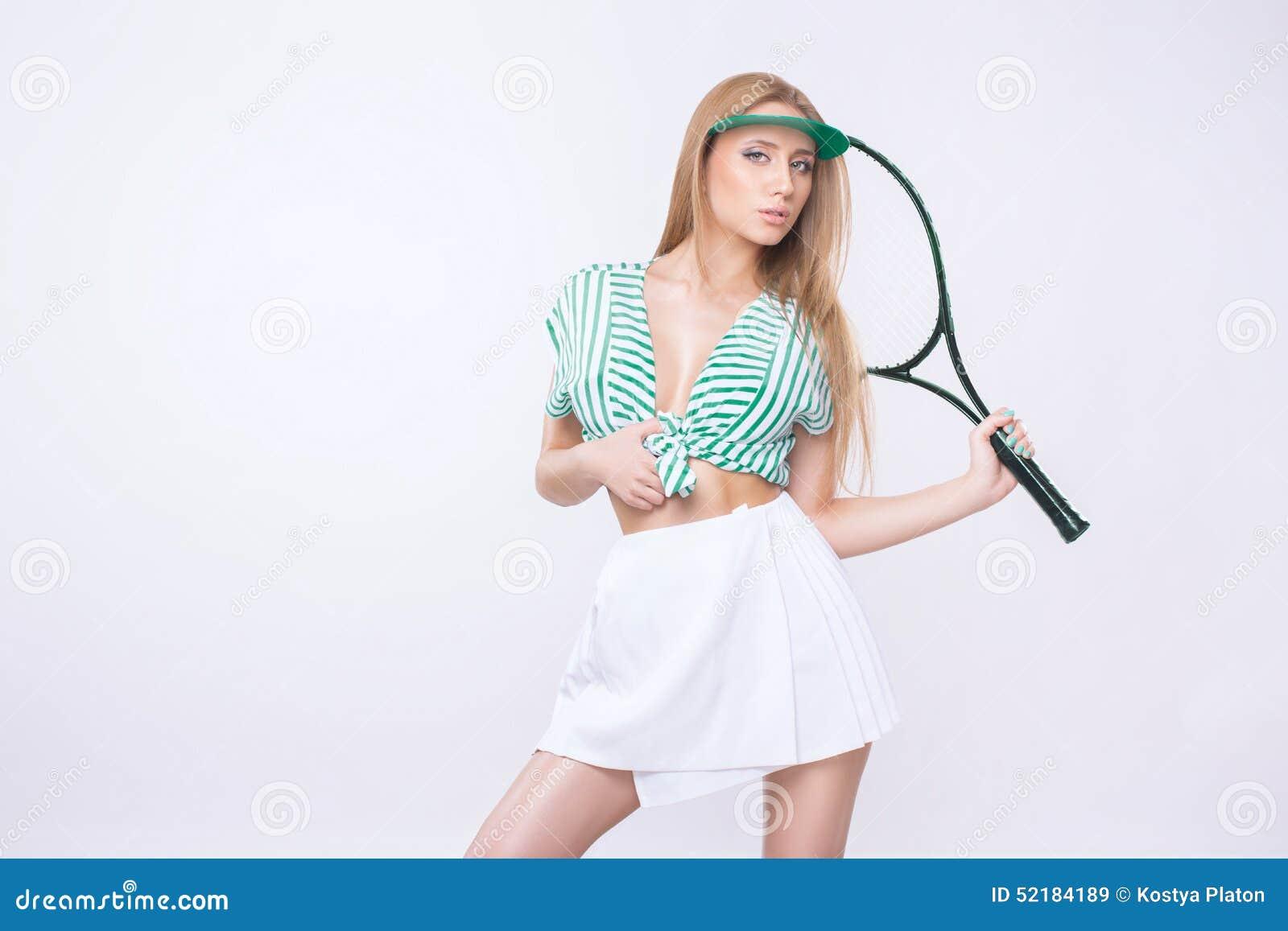 Donna con la racchetta