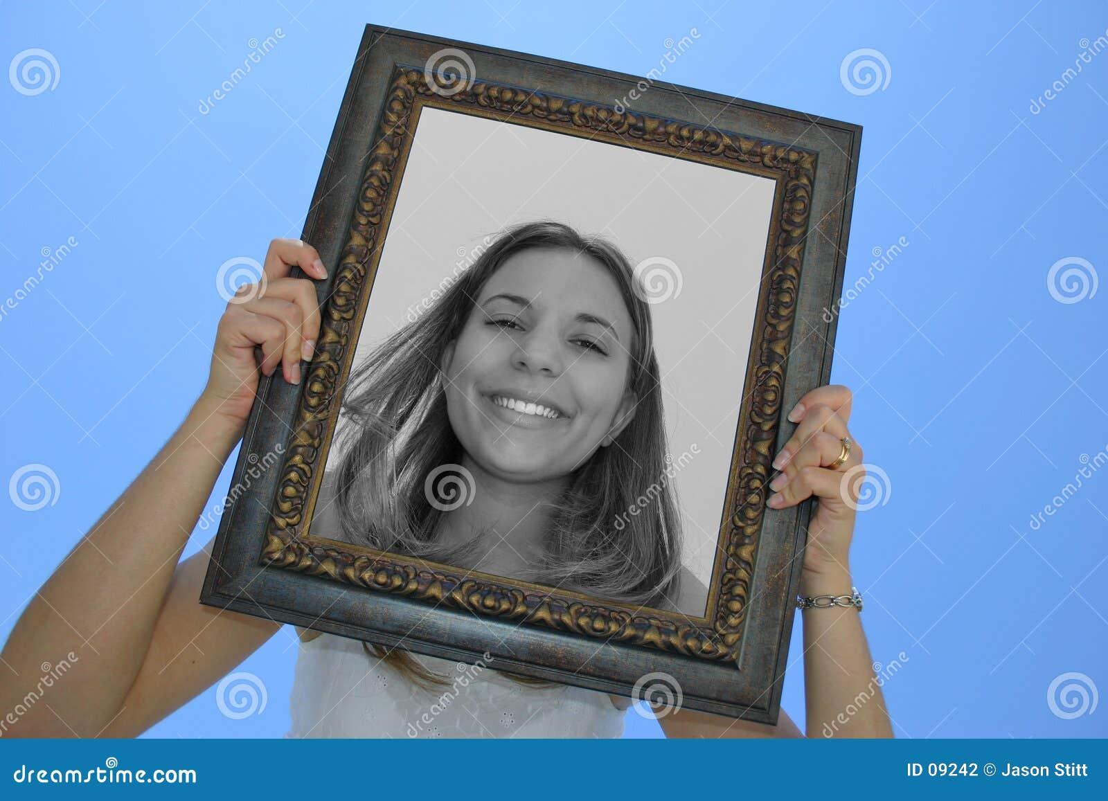 Donna del blocco per grafici