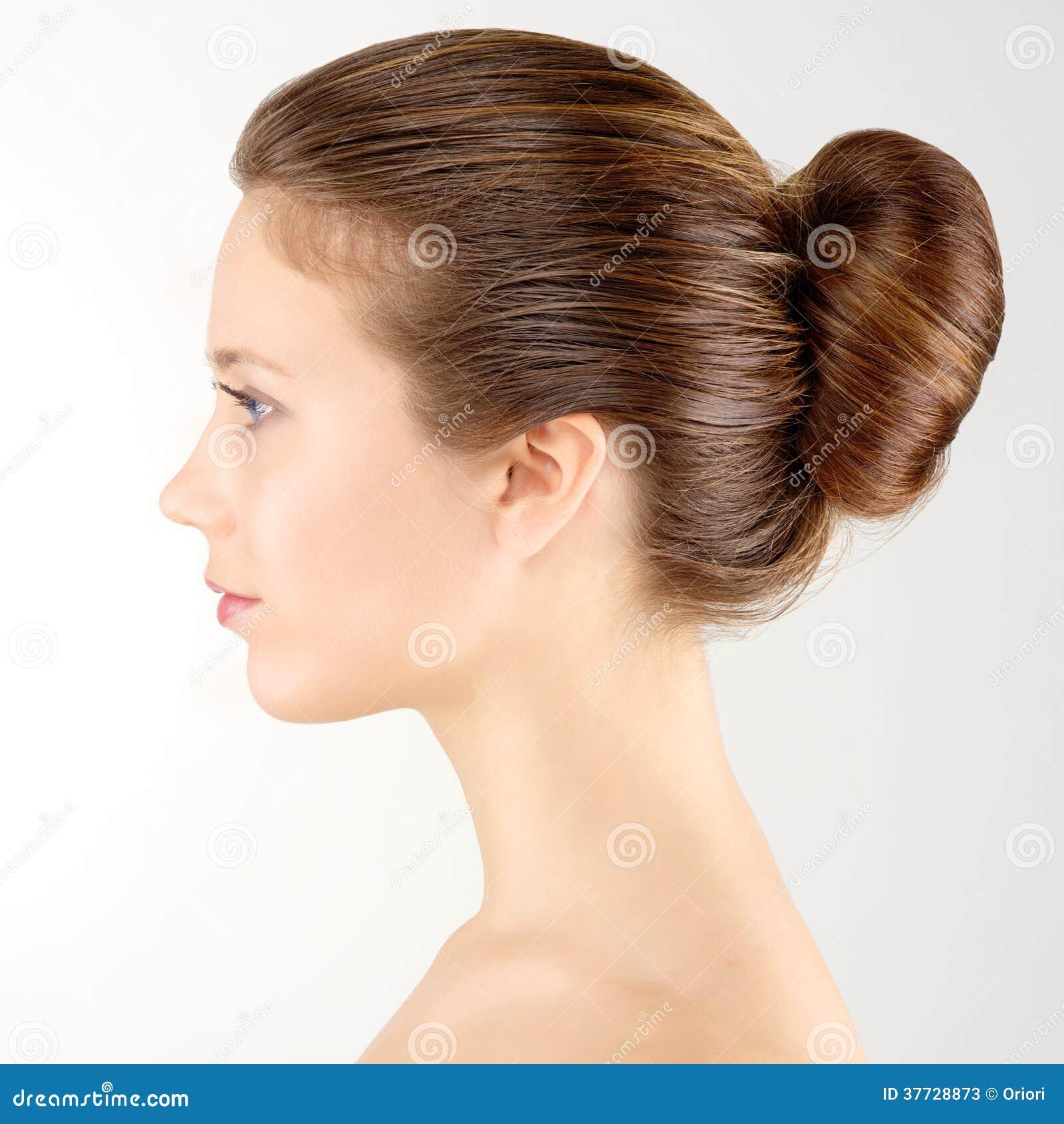 Donna del ritratto di profilo fotografie stock immagine 37728873 - Foto poile ...