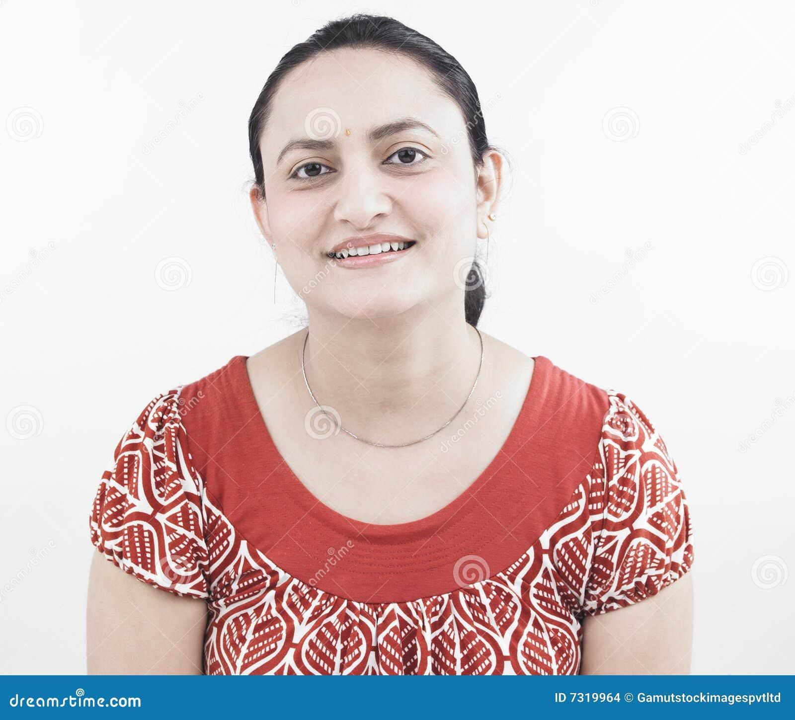 Donna dell origine indiana