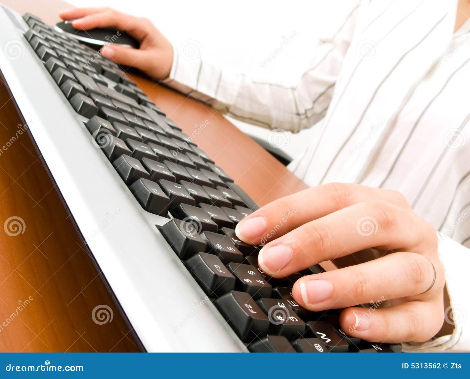 Download Donna di affari fotografia stock. Immagine di businesswoman - 5313562