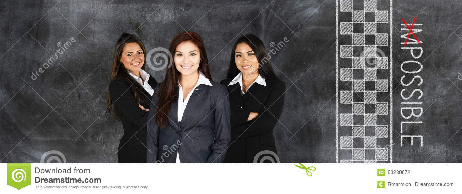 Donna di affari sul lavoro