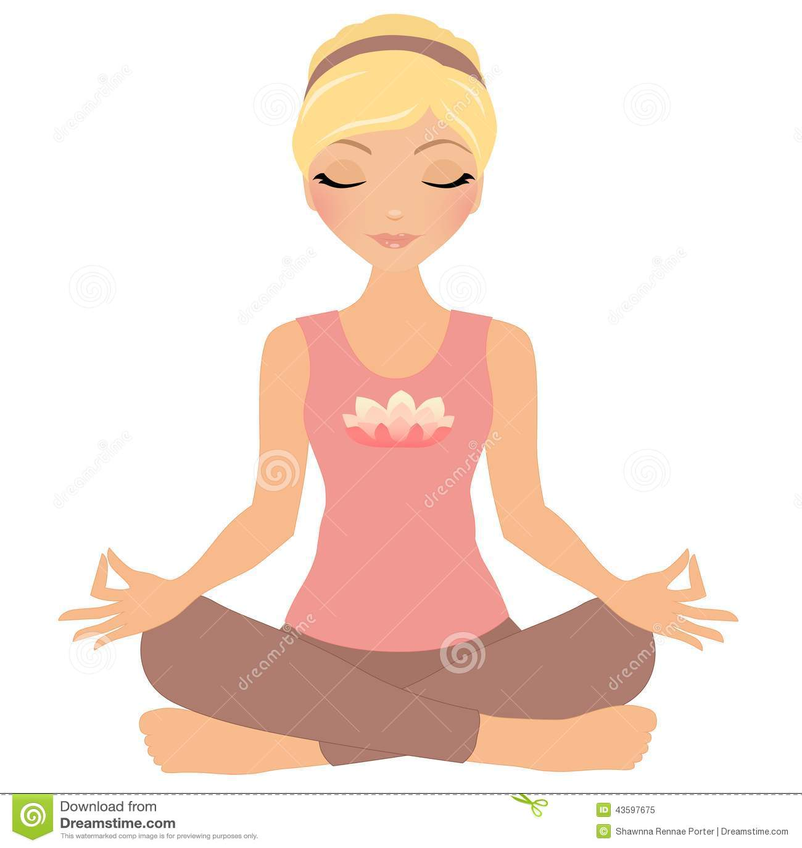 Donna di meditazione