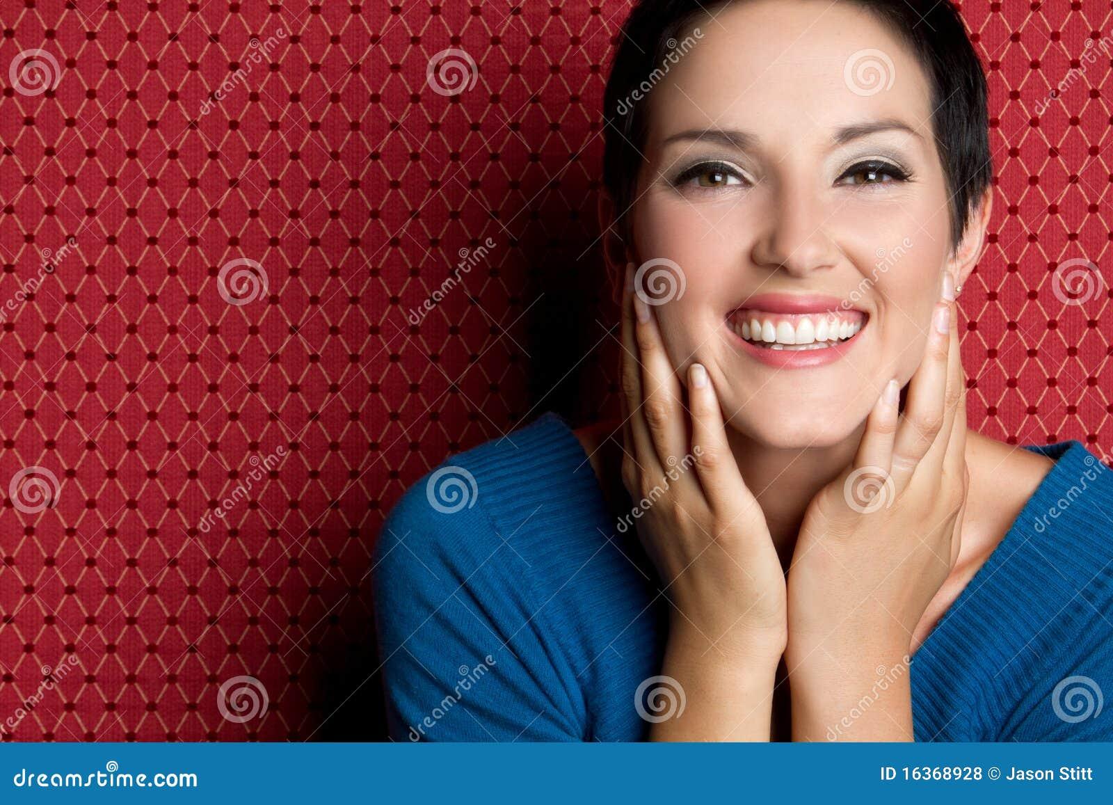 Donna di risata