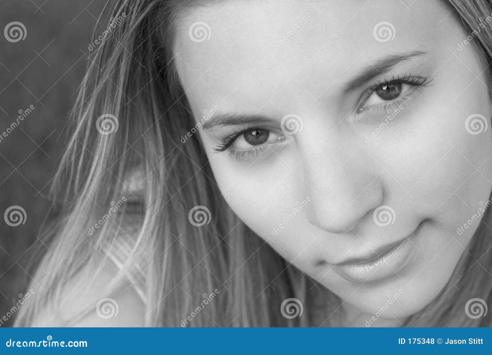 Donna di sorriso
