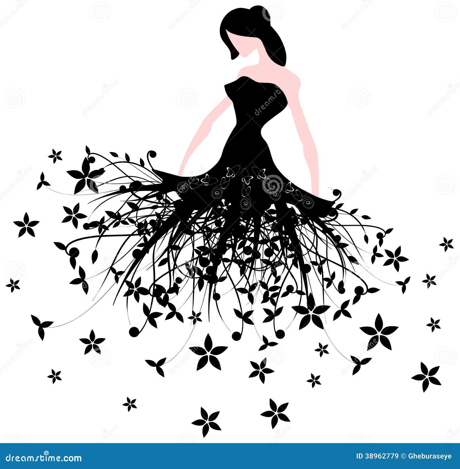 Conosciuto Donna elegante stilizzata illustrazione di stock. Immagine di  LI23