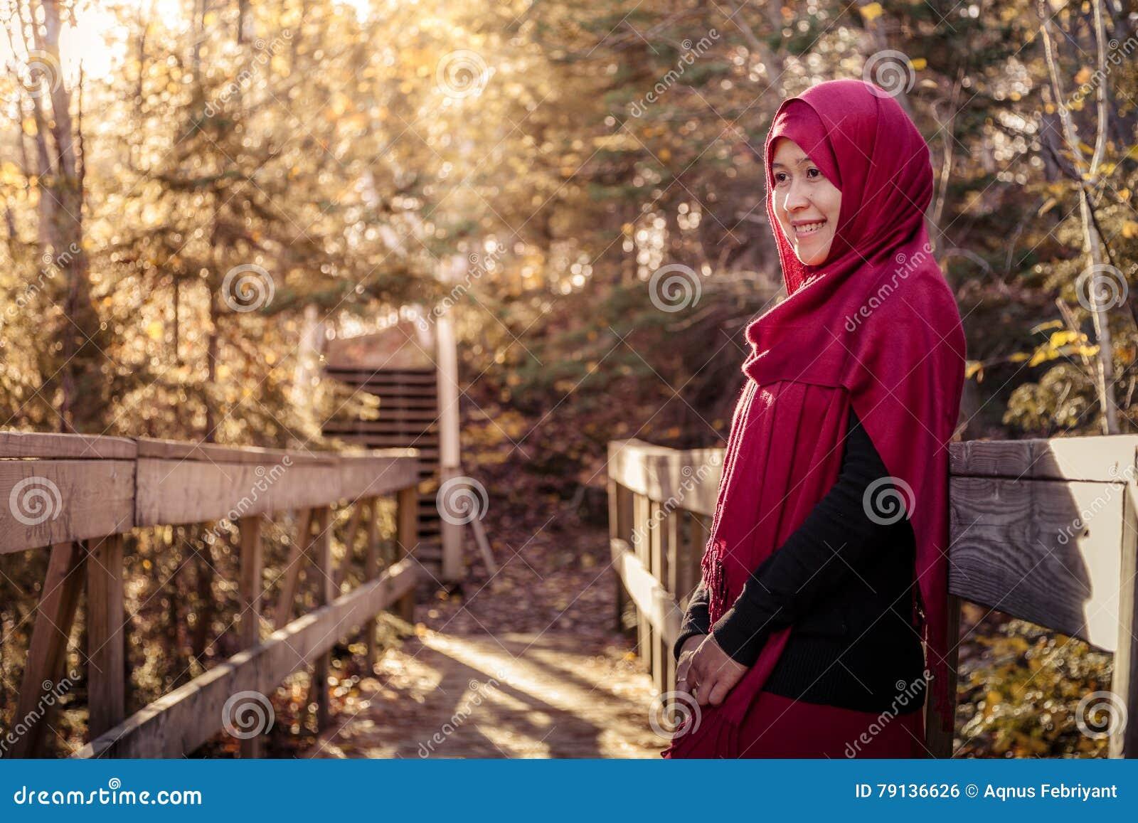 Donna musulmana incinta