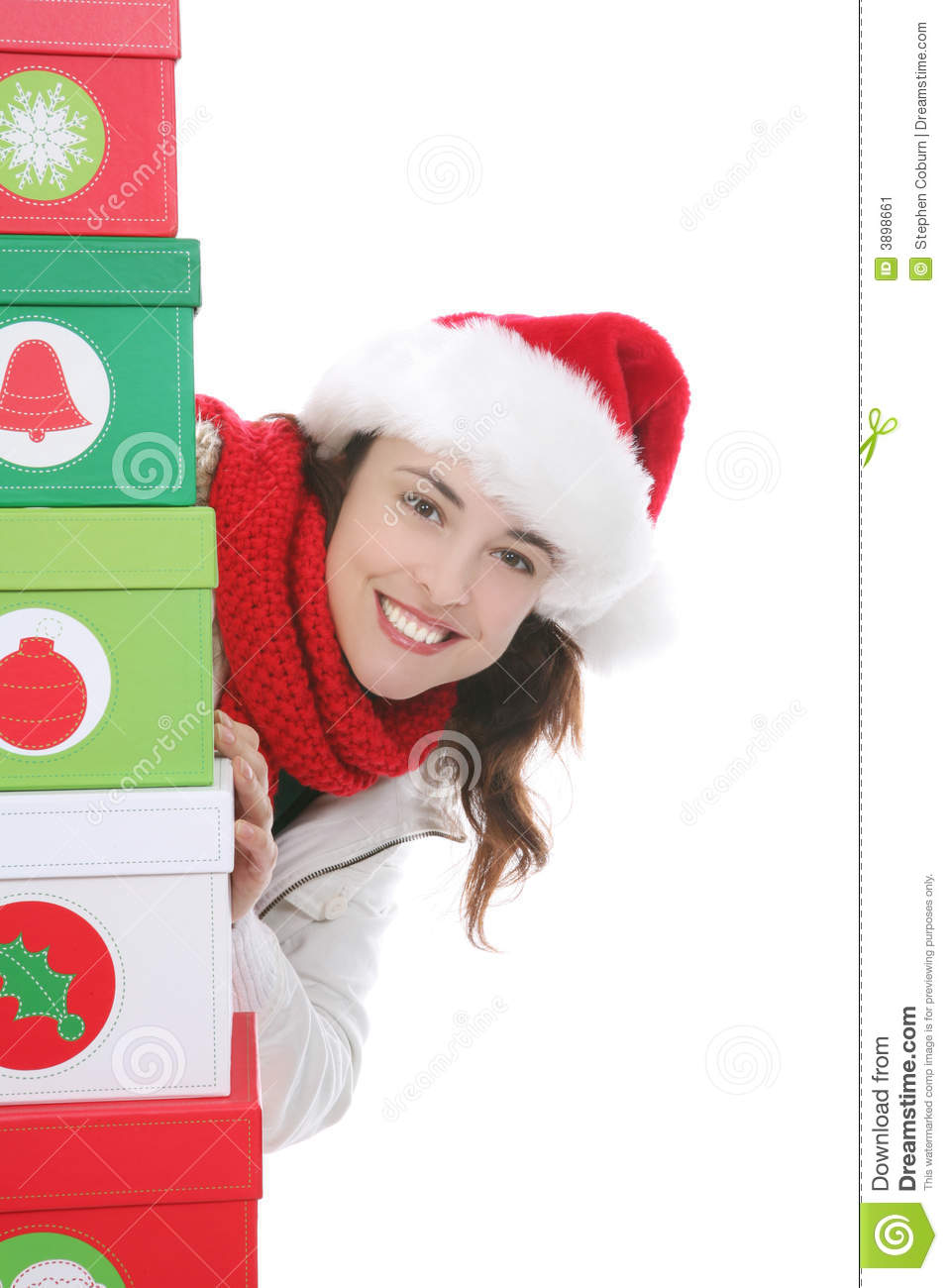 Donna a natale