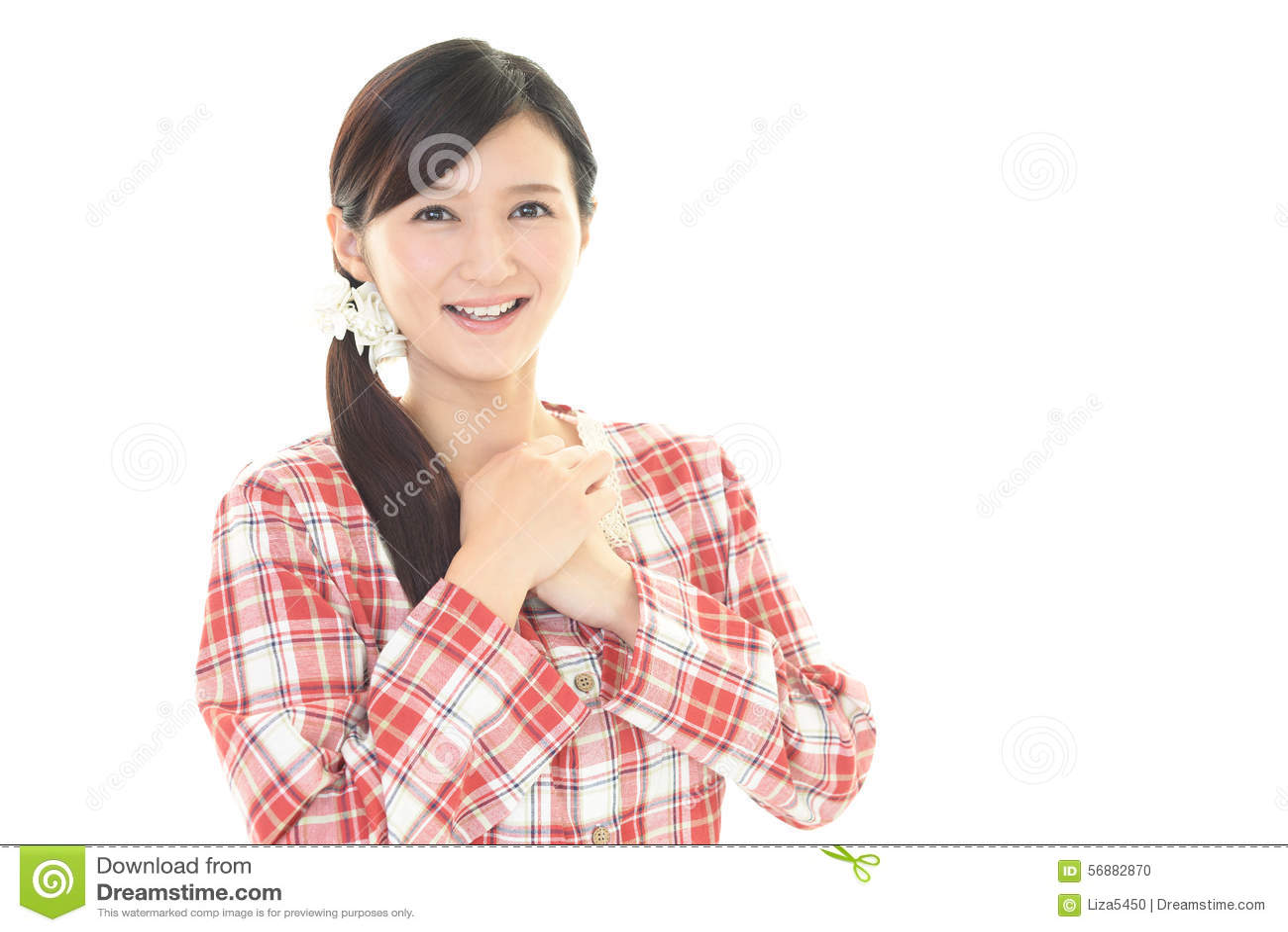 Donna in pigiama