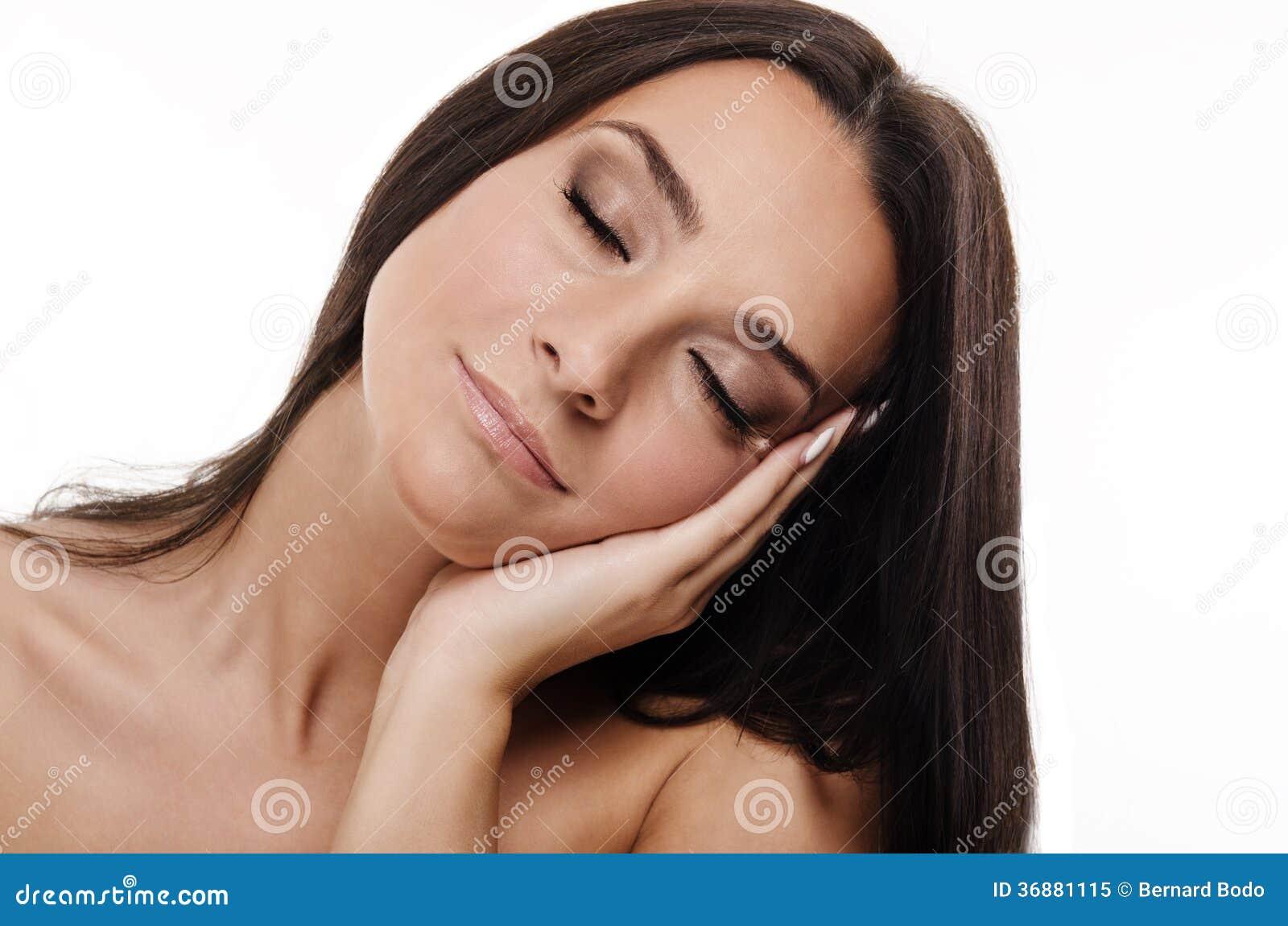 Download Donna sensuale immagine stock. Immagine di ragazza, capelli - 36881115