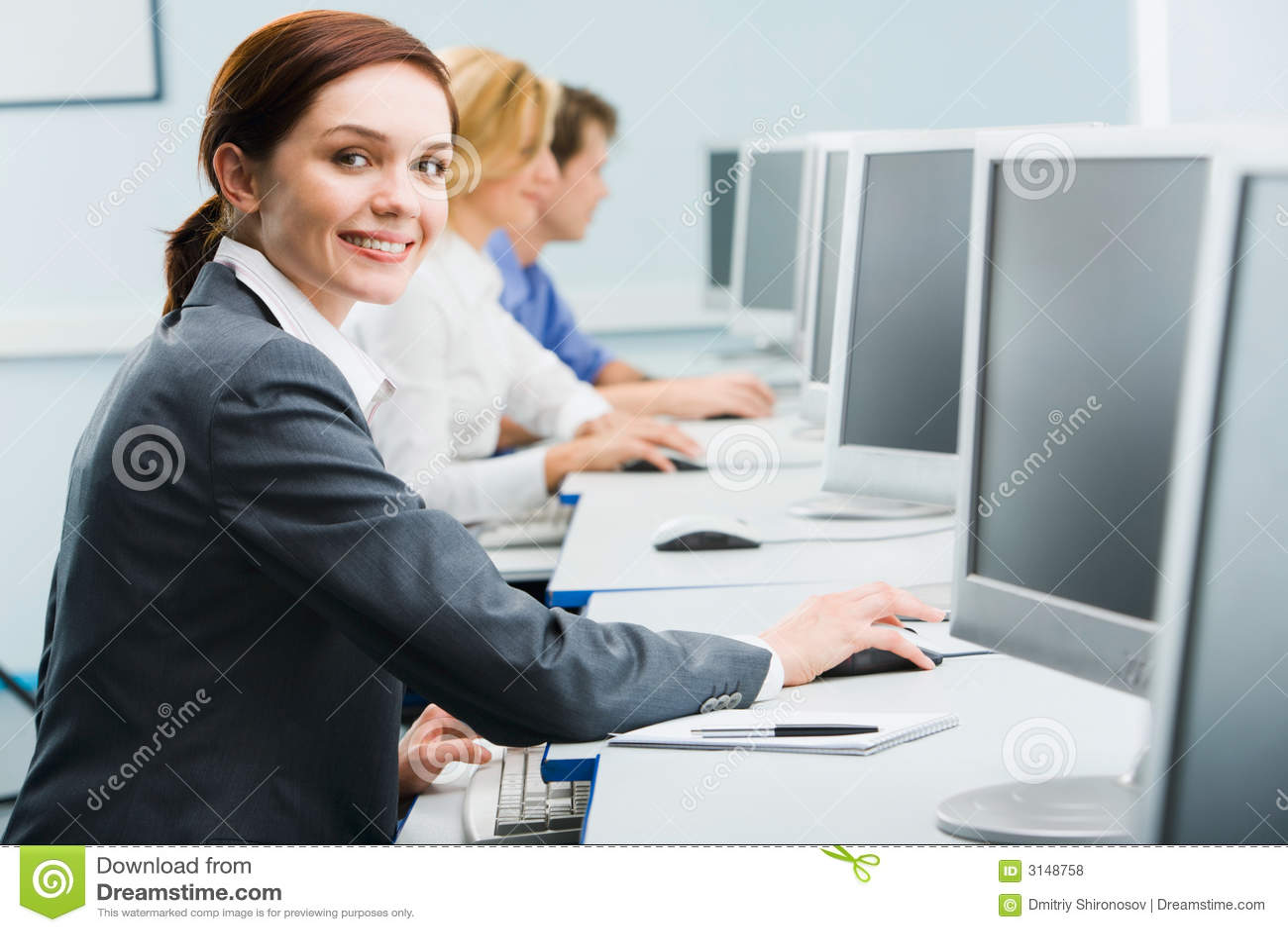 Donne occupate di affari