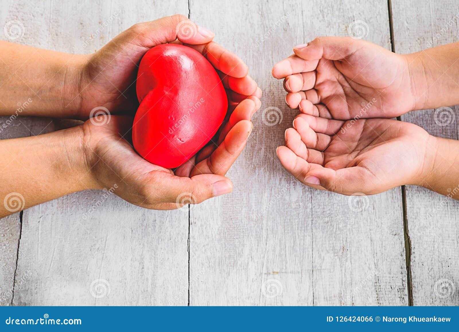 Donnez le coeur à partager