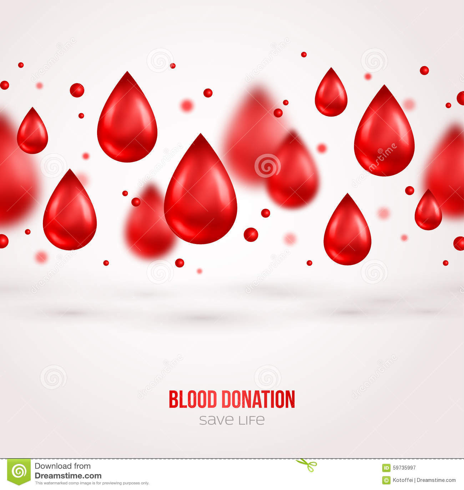 Poster design on blood donation - Banner Blood Design Donation