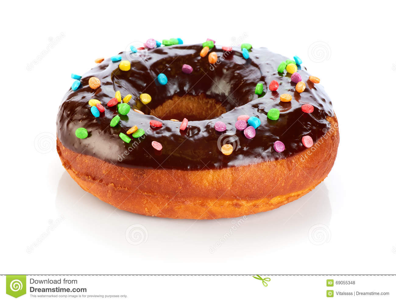 Calories In A Chocolate Covered Cake Donut