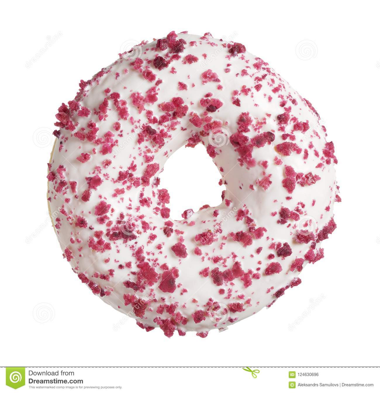 Donut with cream cheese