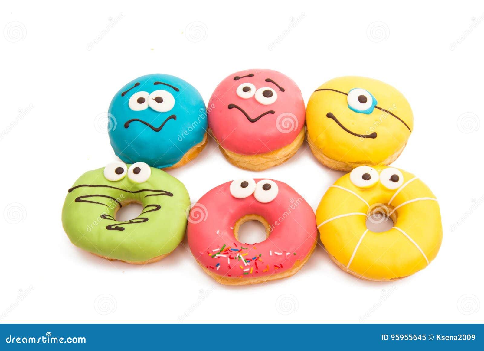 Donut in glaze