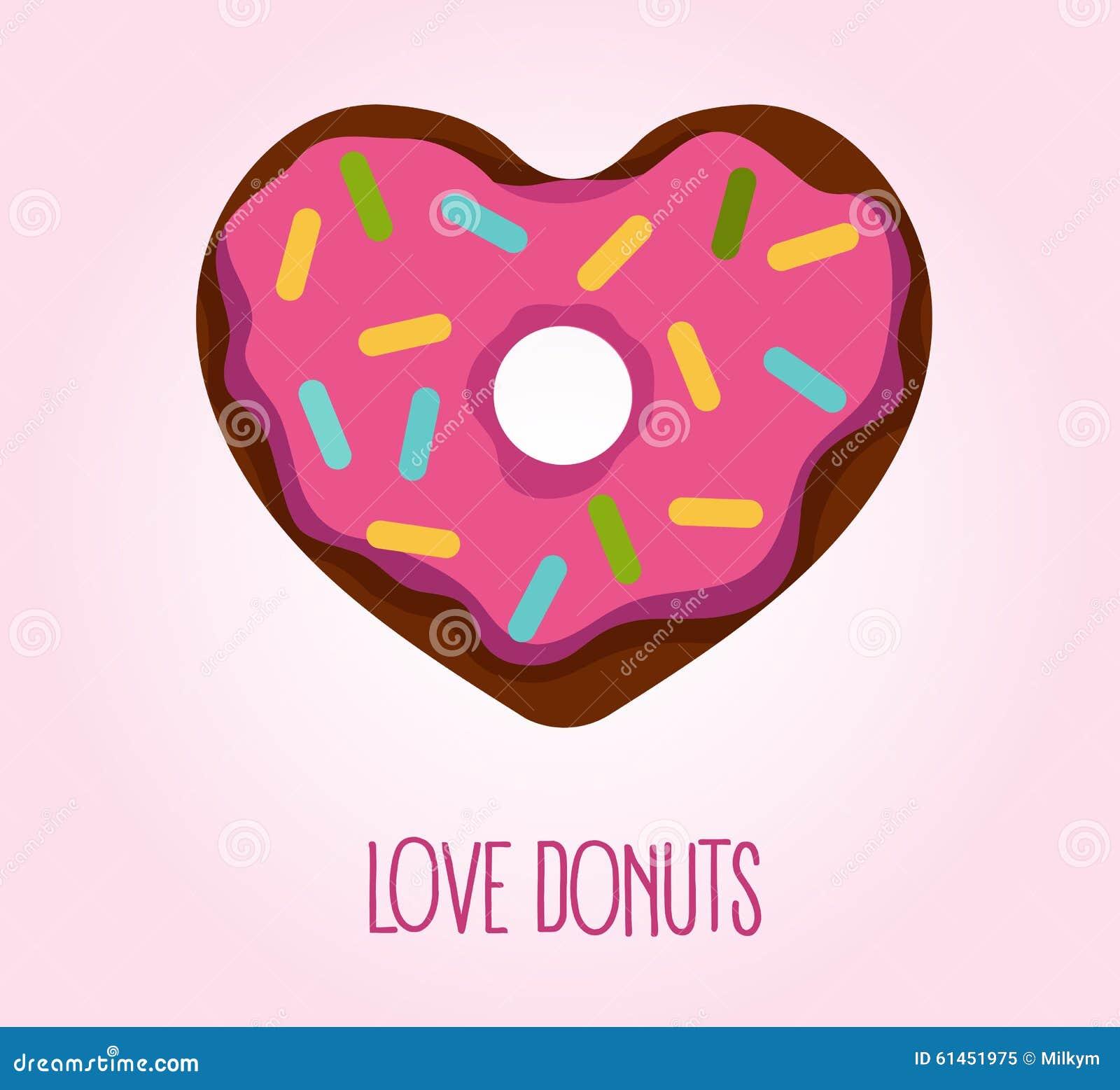 donut in heart shape stock vector image 61451975 heart shape vector free black and white heart shape vector free black and white