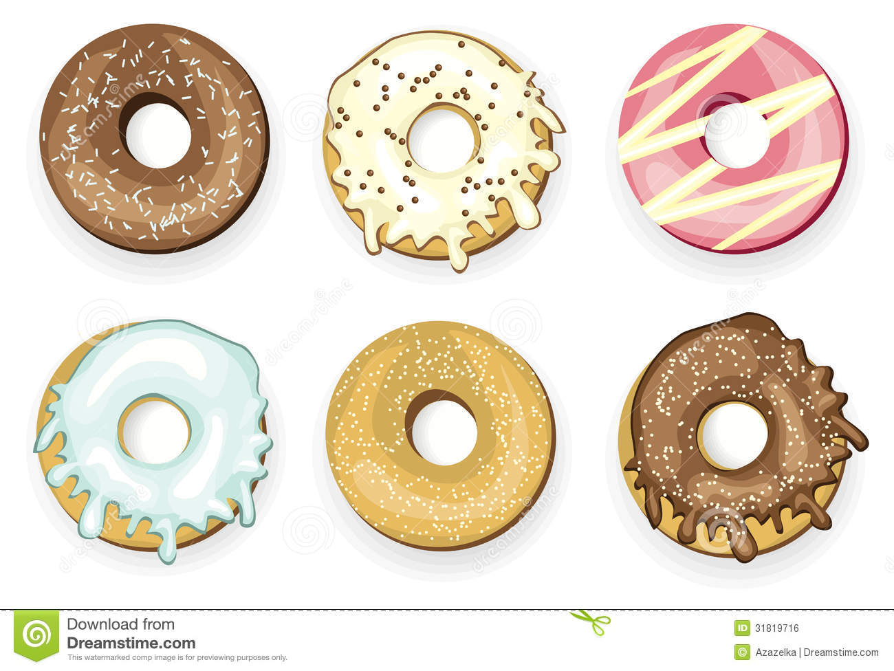 Donuts Royalty Free Stock Image - Image: 31819716