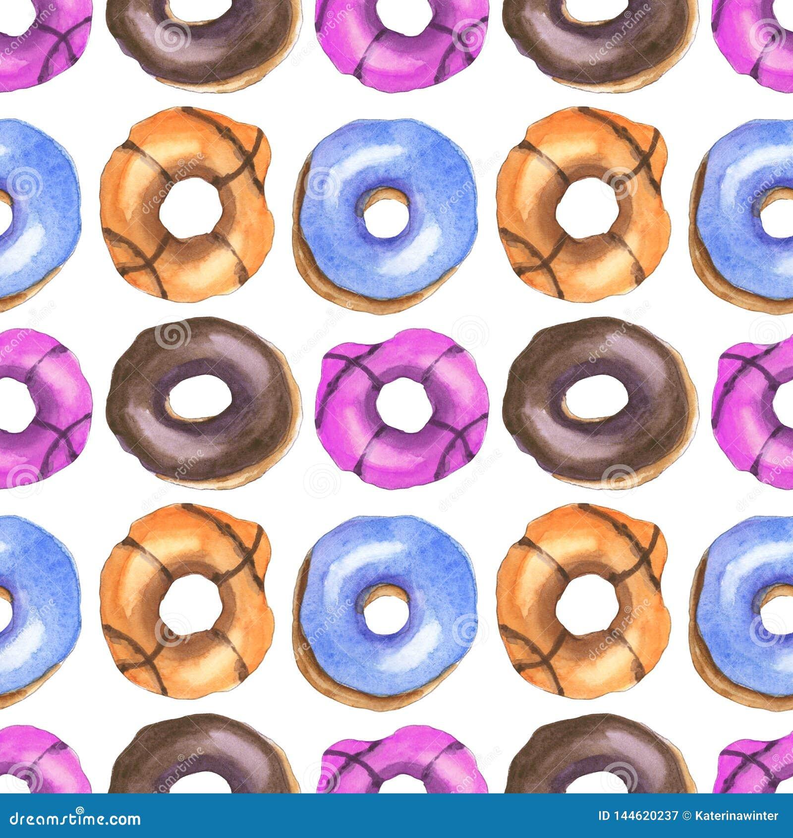 Donutsvattenfärgmodell