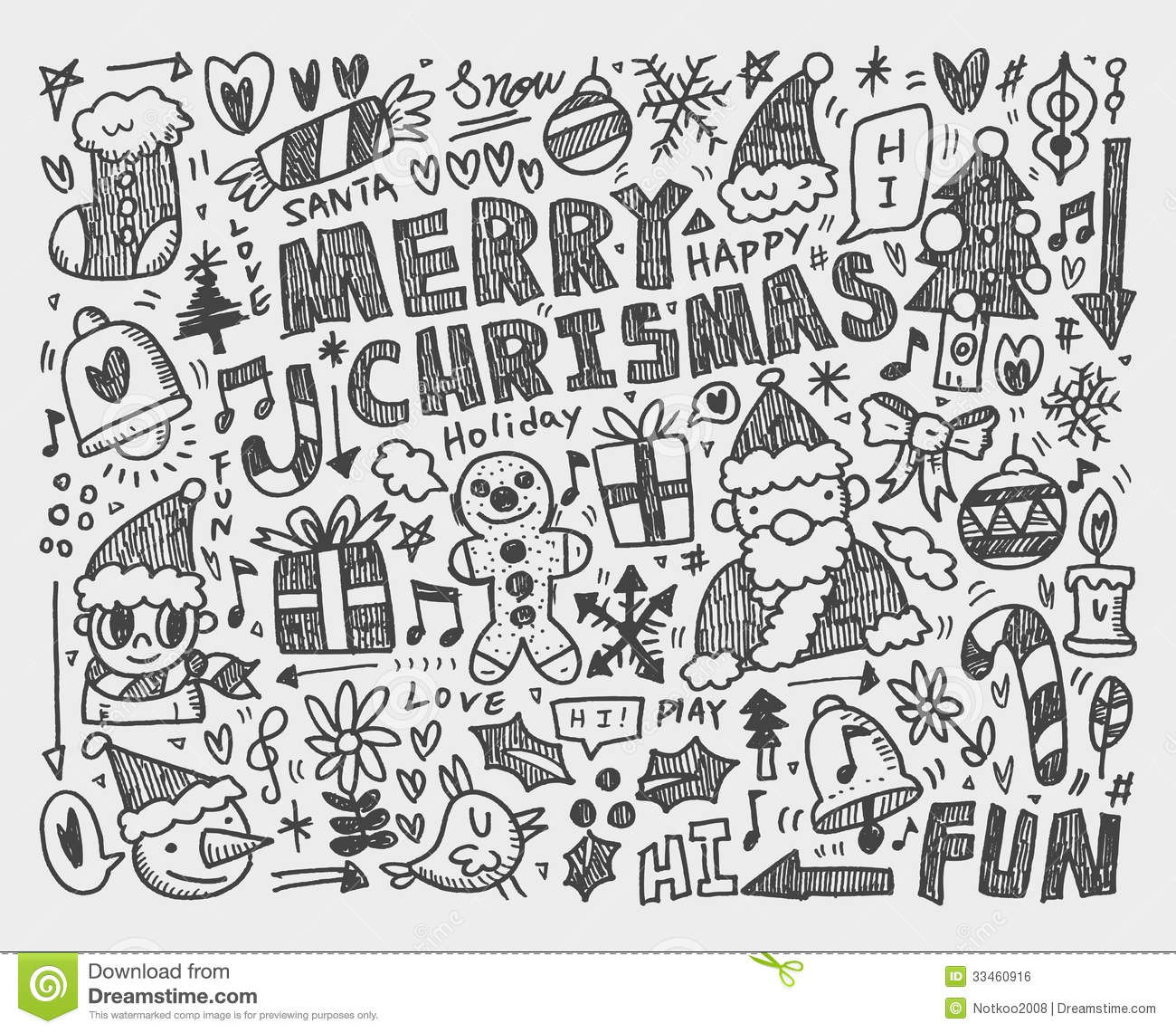 Christmas Tree Ornament Coloring Pages