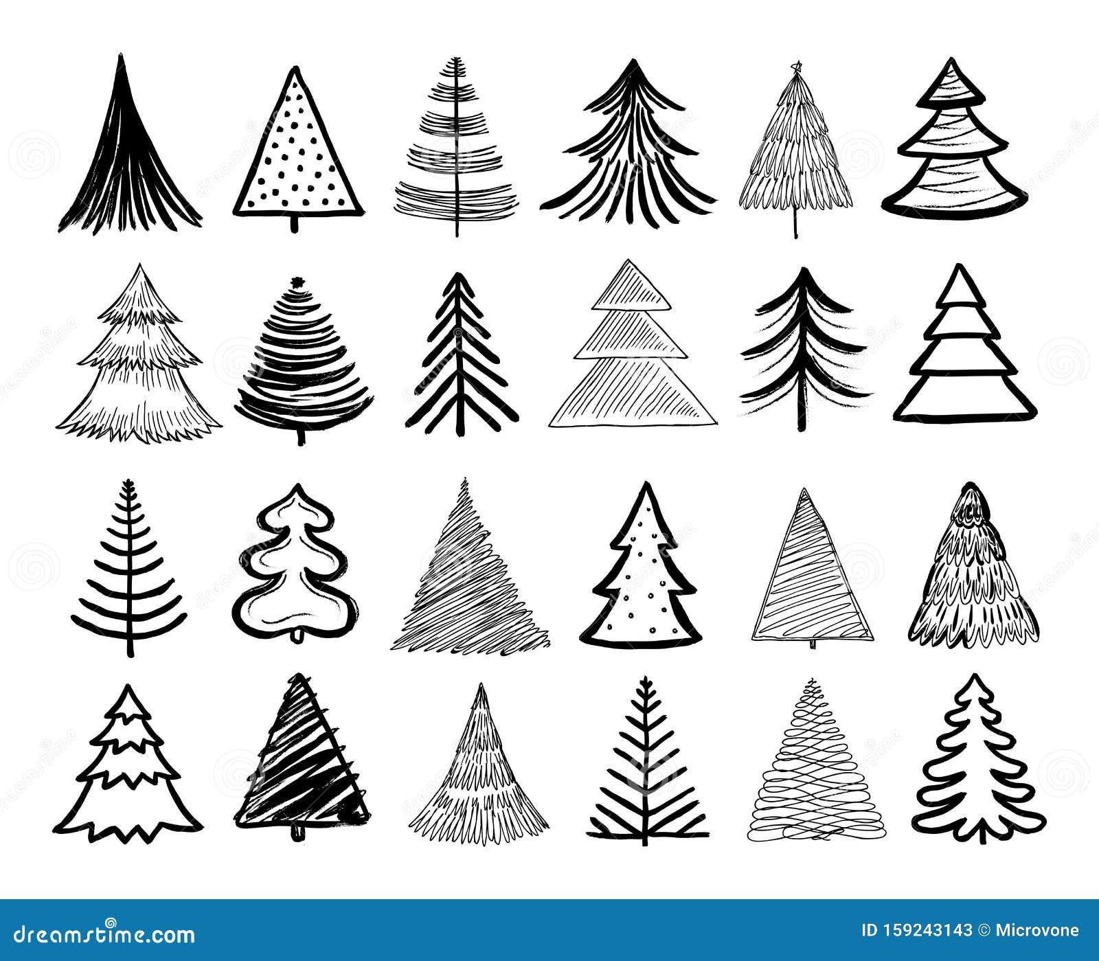 Pencil Sketch Christmas Tree Stock Illustrations 1 470 Pencil Sketch Christmas Tree Stock Illustrations Vectors Clipart Dreamstime