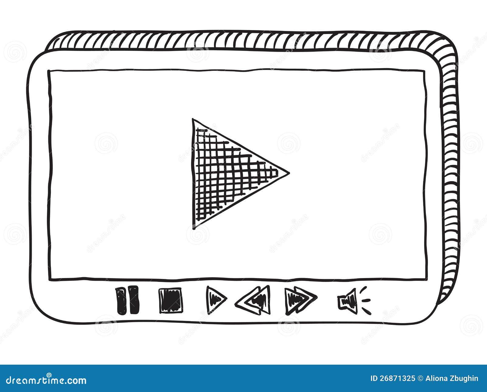 Doodle del riproduttore video