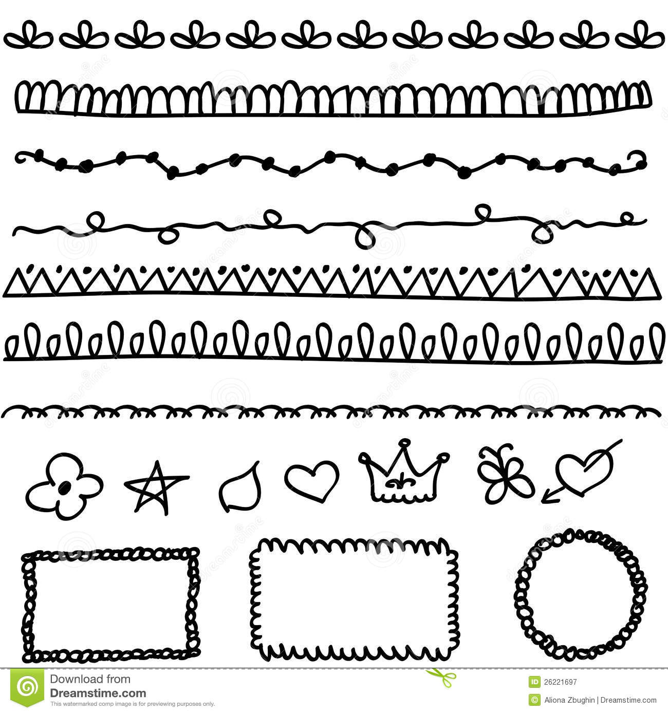 Line Drawing Doodles : Doodle elements stock vector illustration of crowd