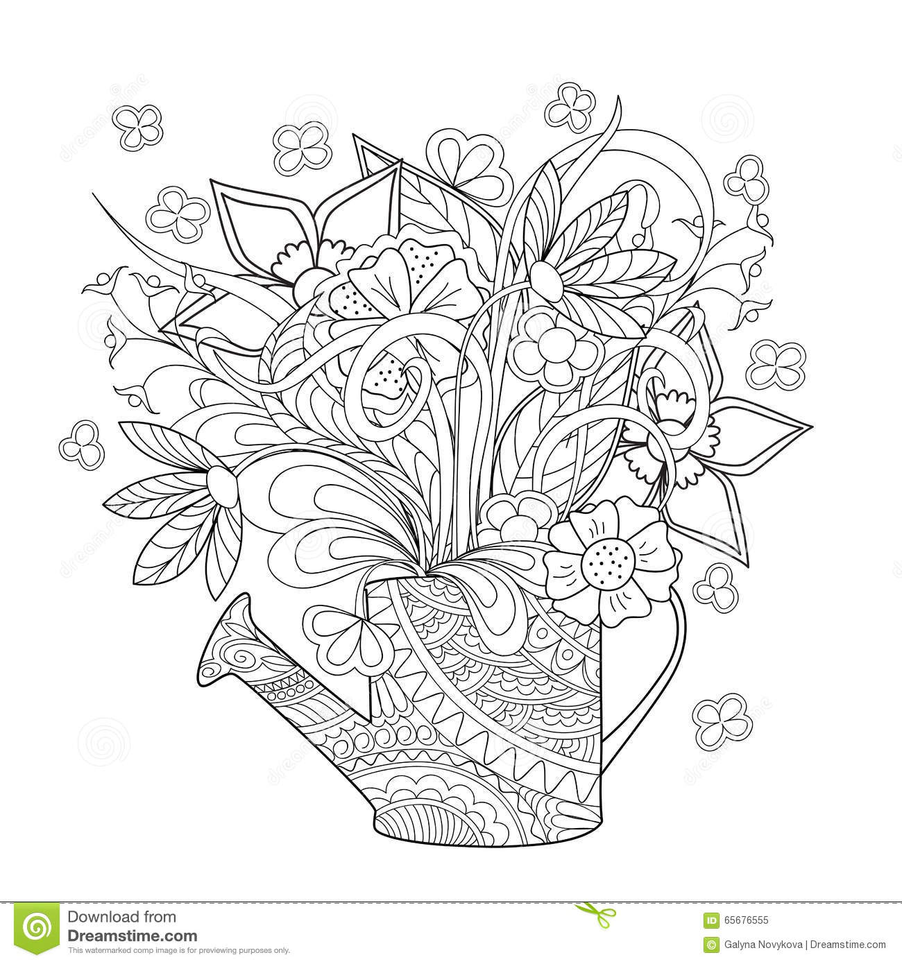 herbs coloring pages - photo#21
