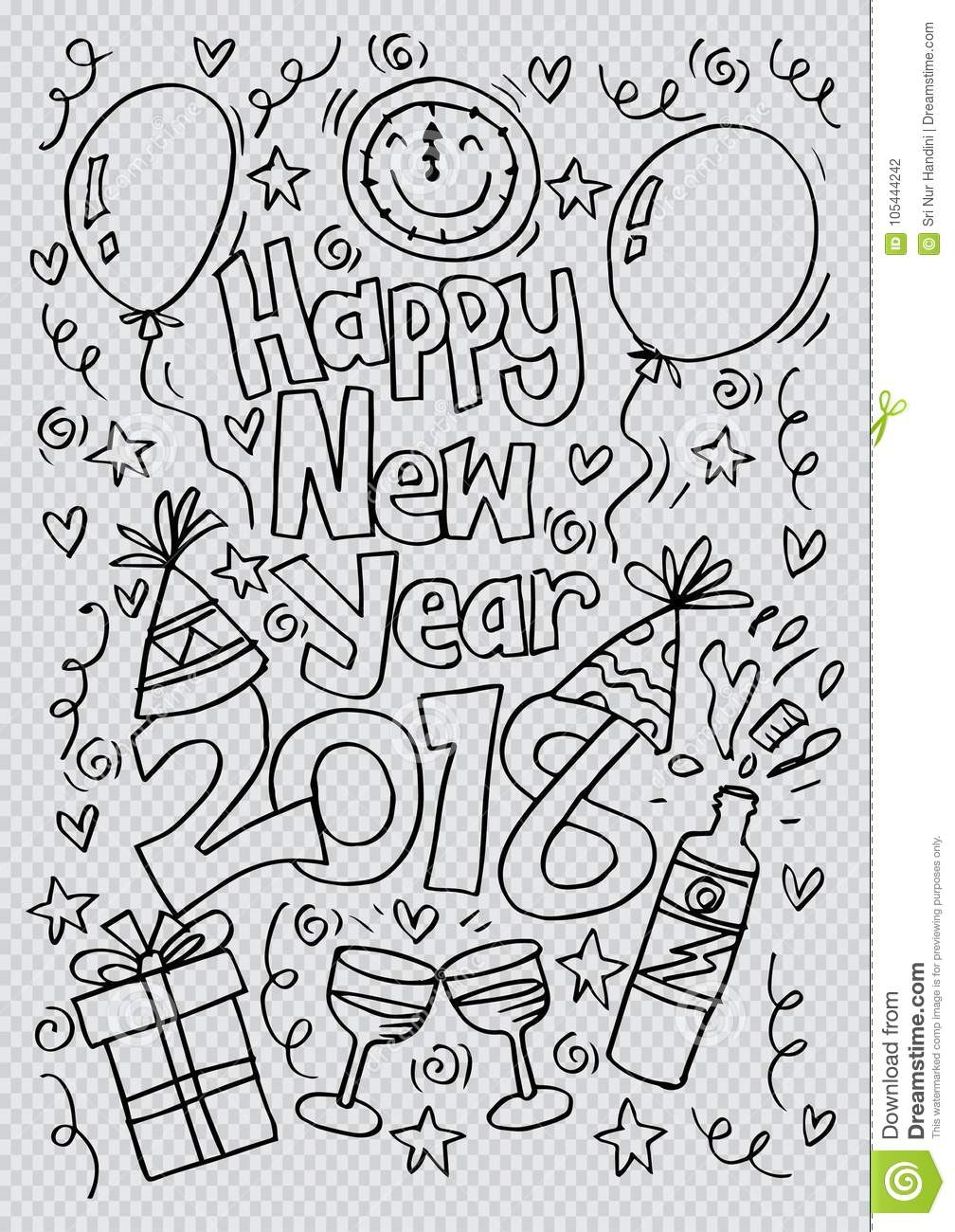 Happy New Year Doodle 22