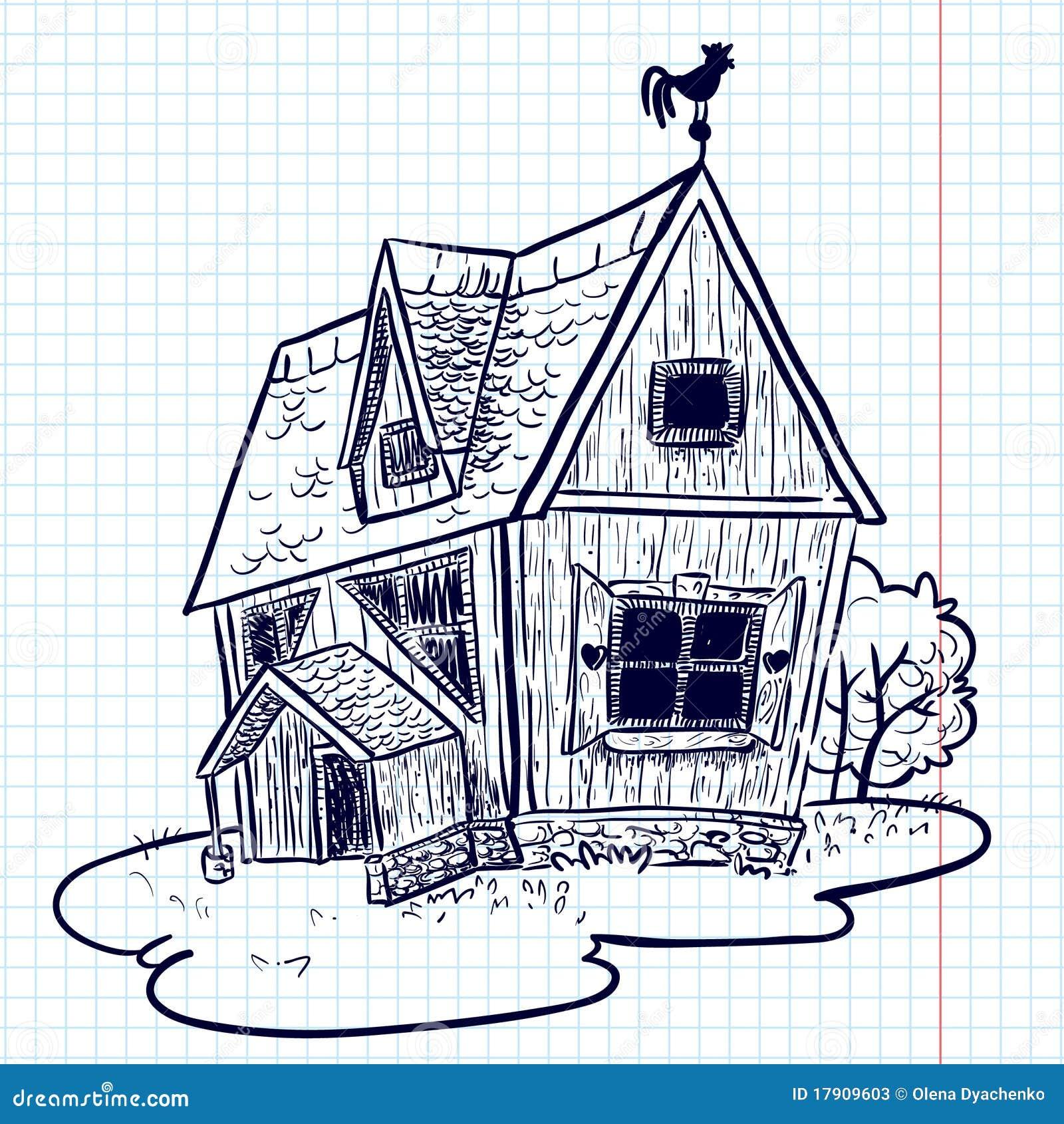 Doodle House Stock Photos Image 17909603